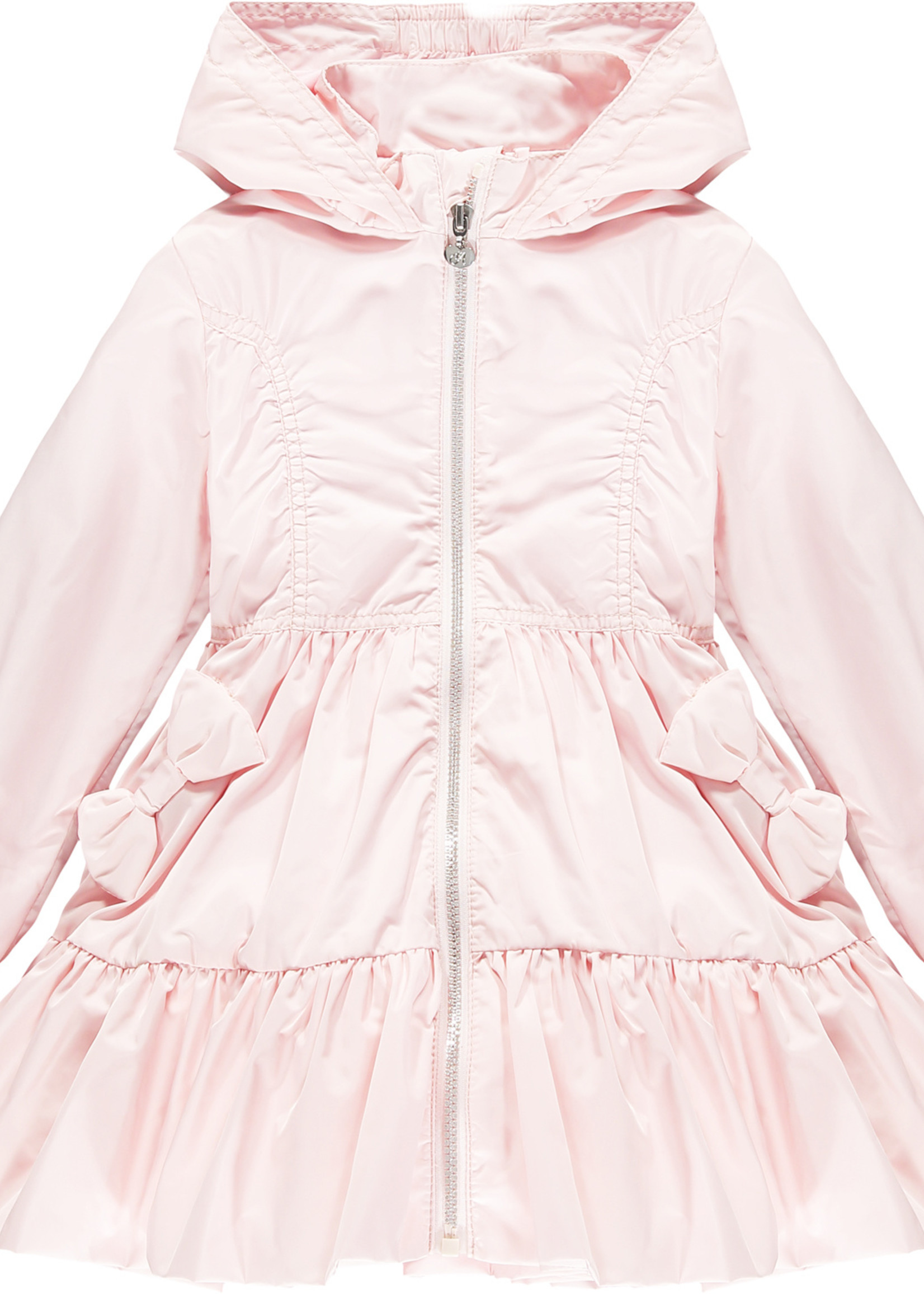 A Dee Lacey poly hooded jacket