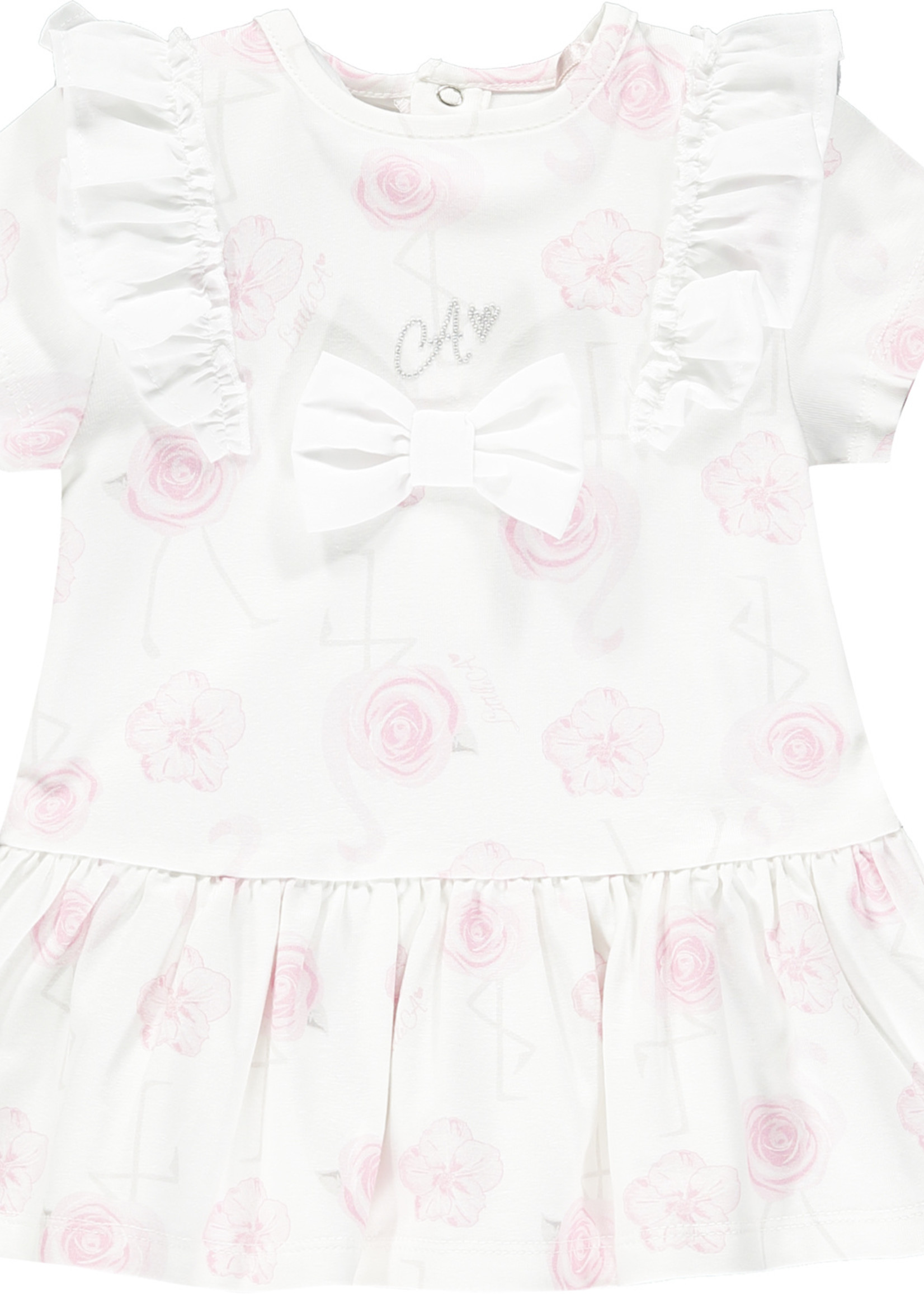 Little Adee Jane Flamingo print dress