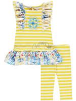 A Dee Lally stripe leggings set
