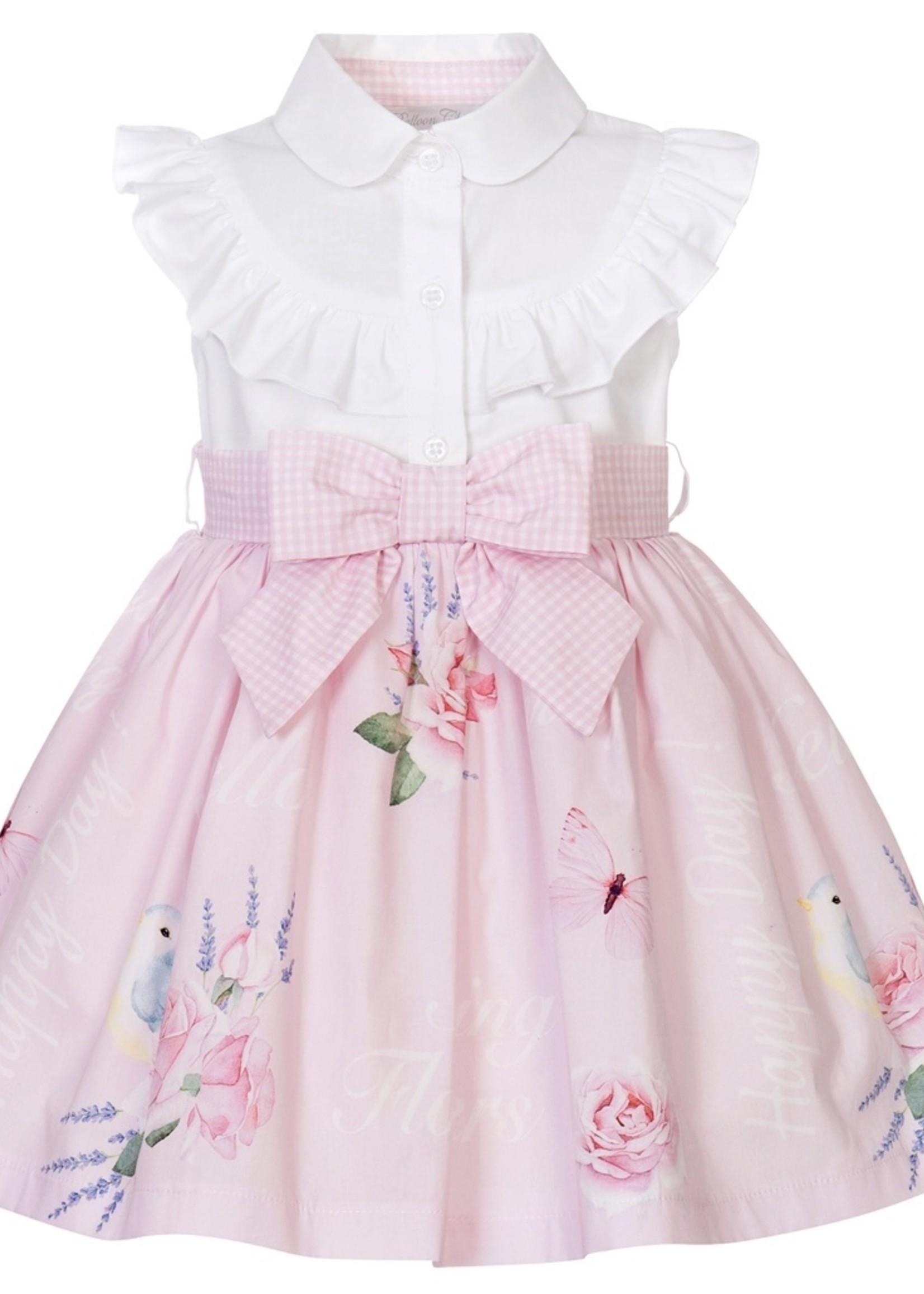 Balloon Chic Balloon Chic dress bow pink 235
