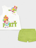 Mayoral Mayoral Shorts set pistachio