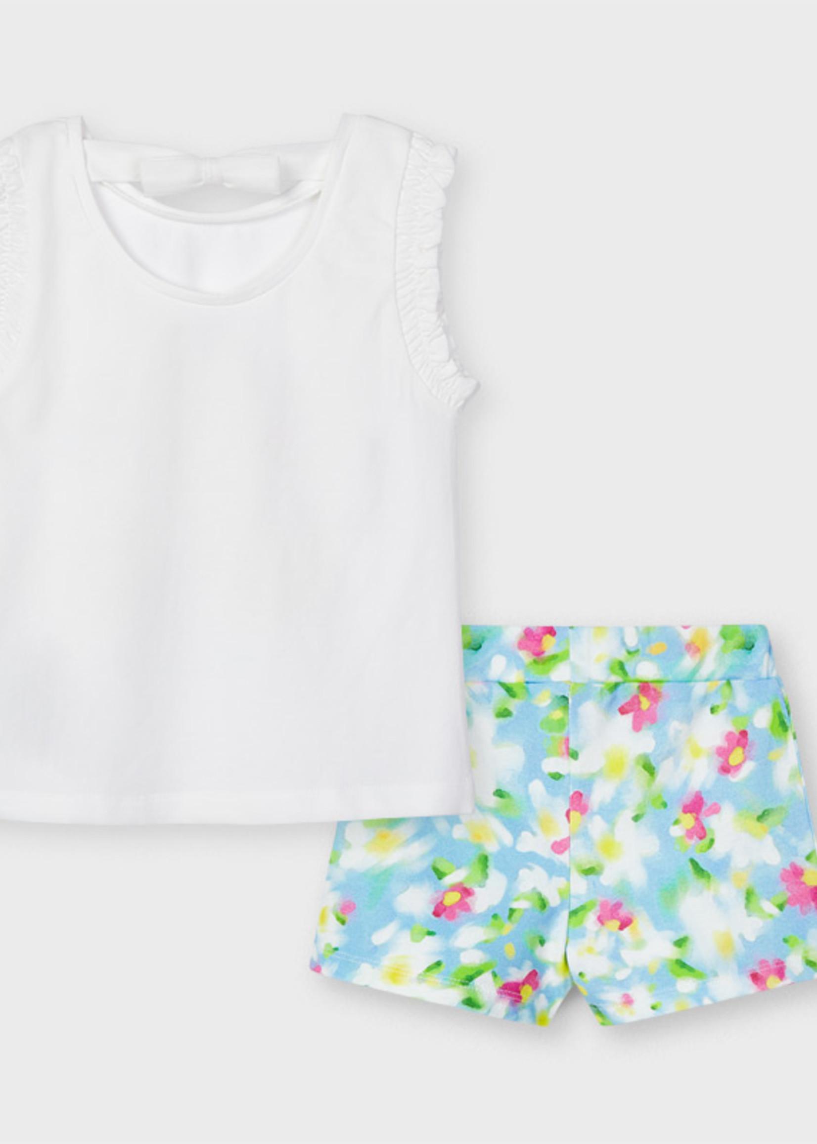 Mayoral Mayoral Printed shorts set