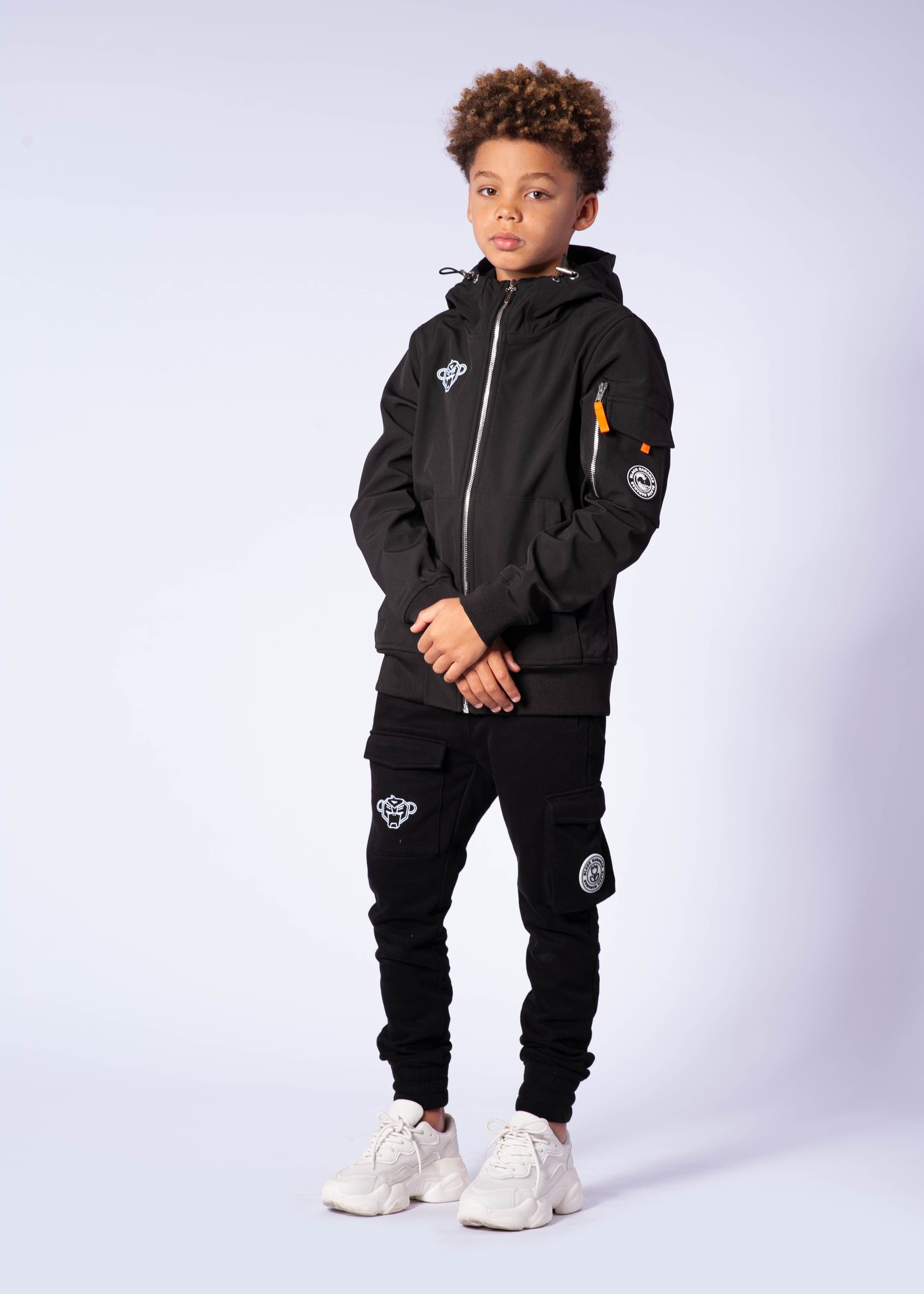 Black Bananas Jr Softshell Jacket