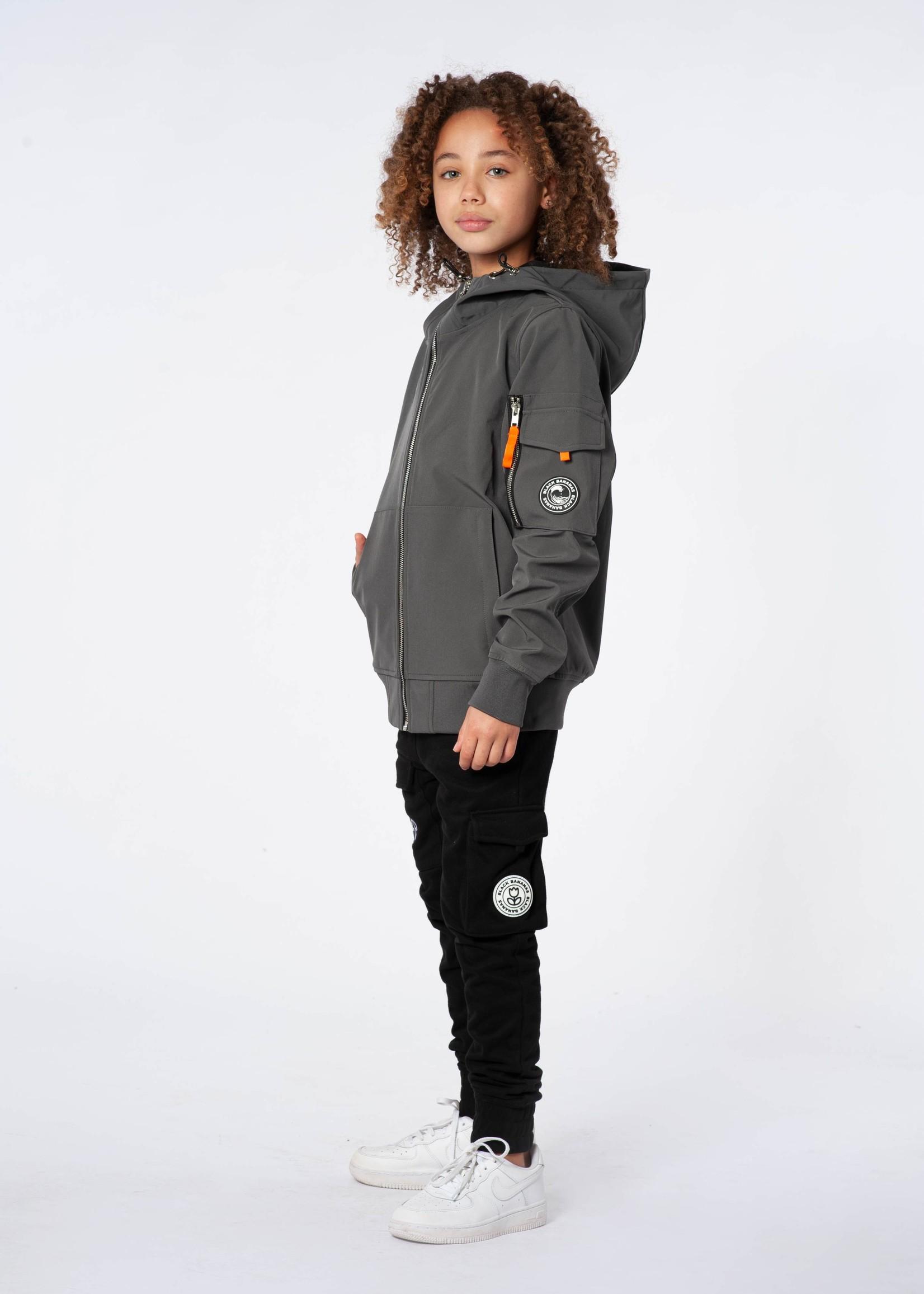 Black Bananas Jr Softshell Jacket grey