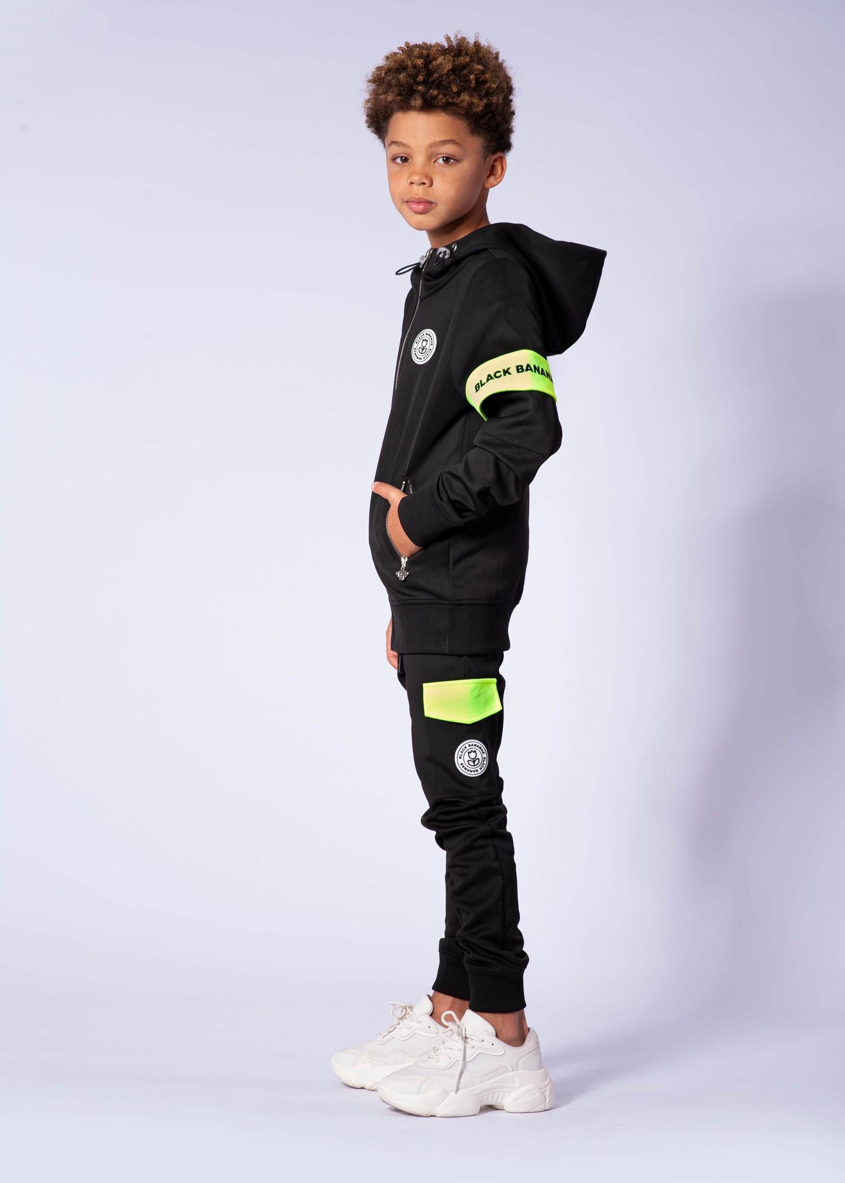 Black Bananas Jr Captain Tracksuit black