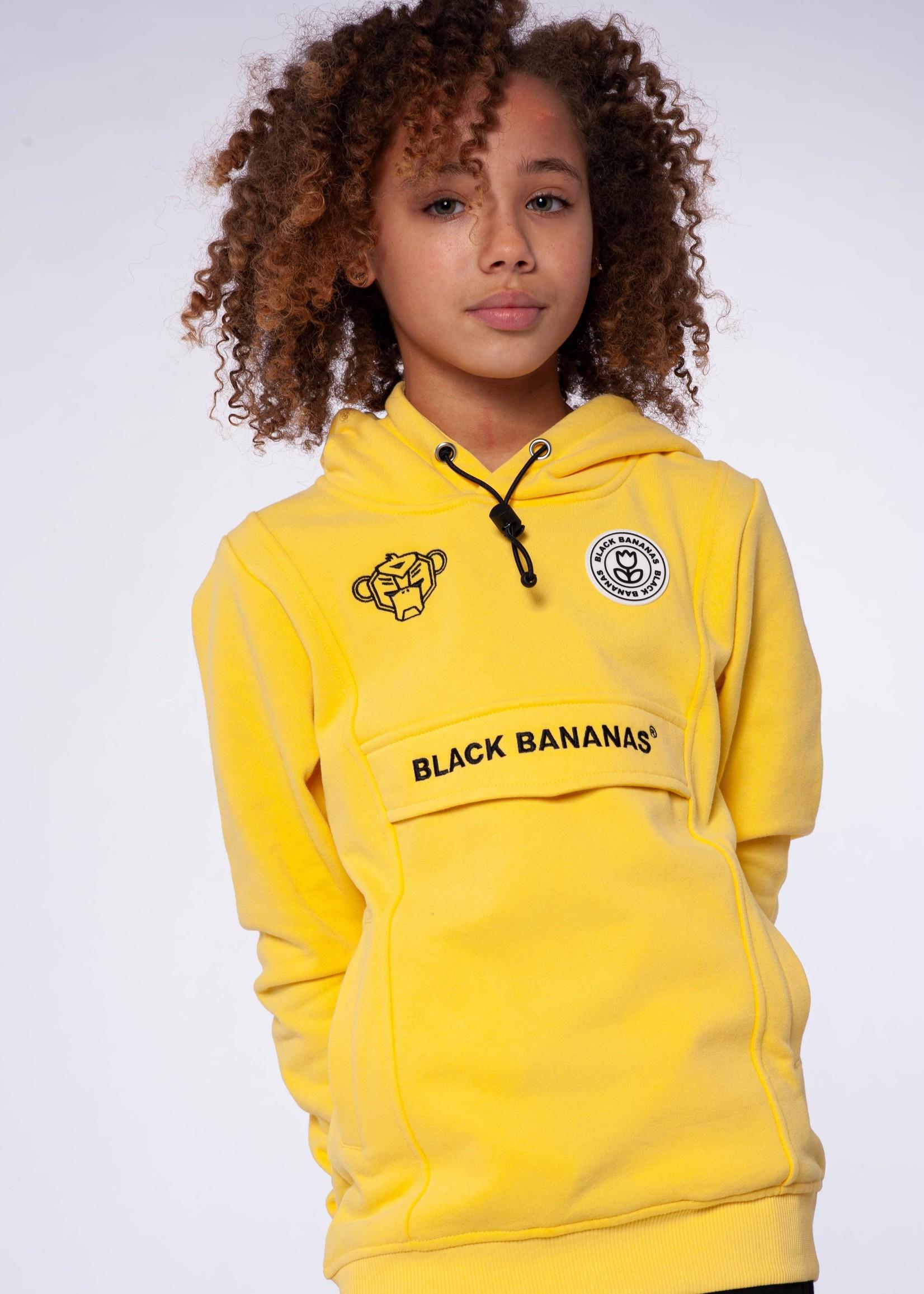 Black Bananas Jr Anorak Hoody yellow