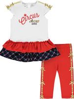 A Dee Molly 2 piece legging set with circus