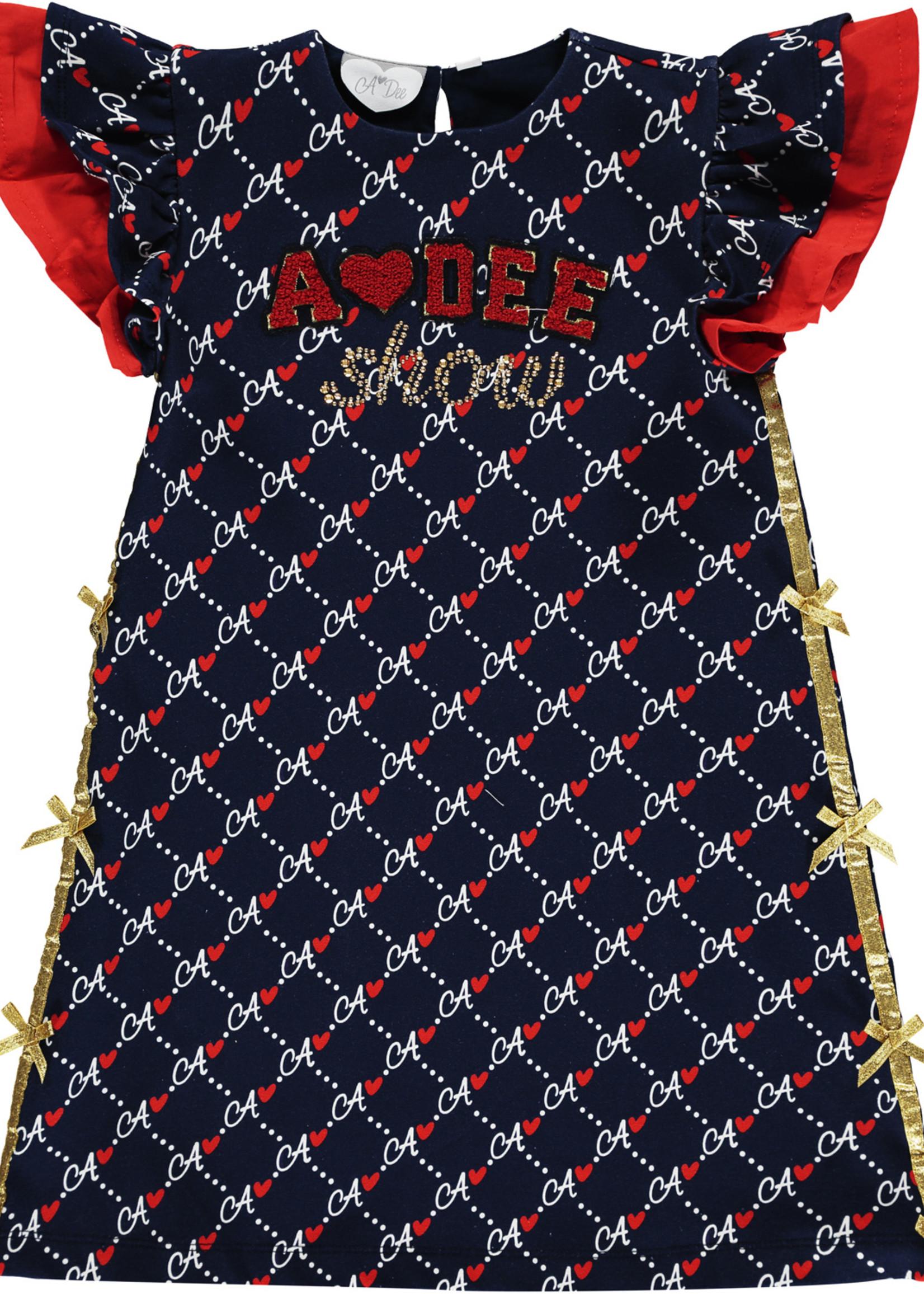 A Dee Meena diamond print dress