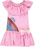 A Dee Neena Dropwaist jersey dress