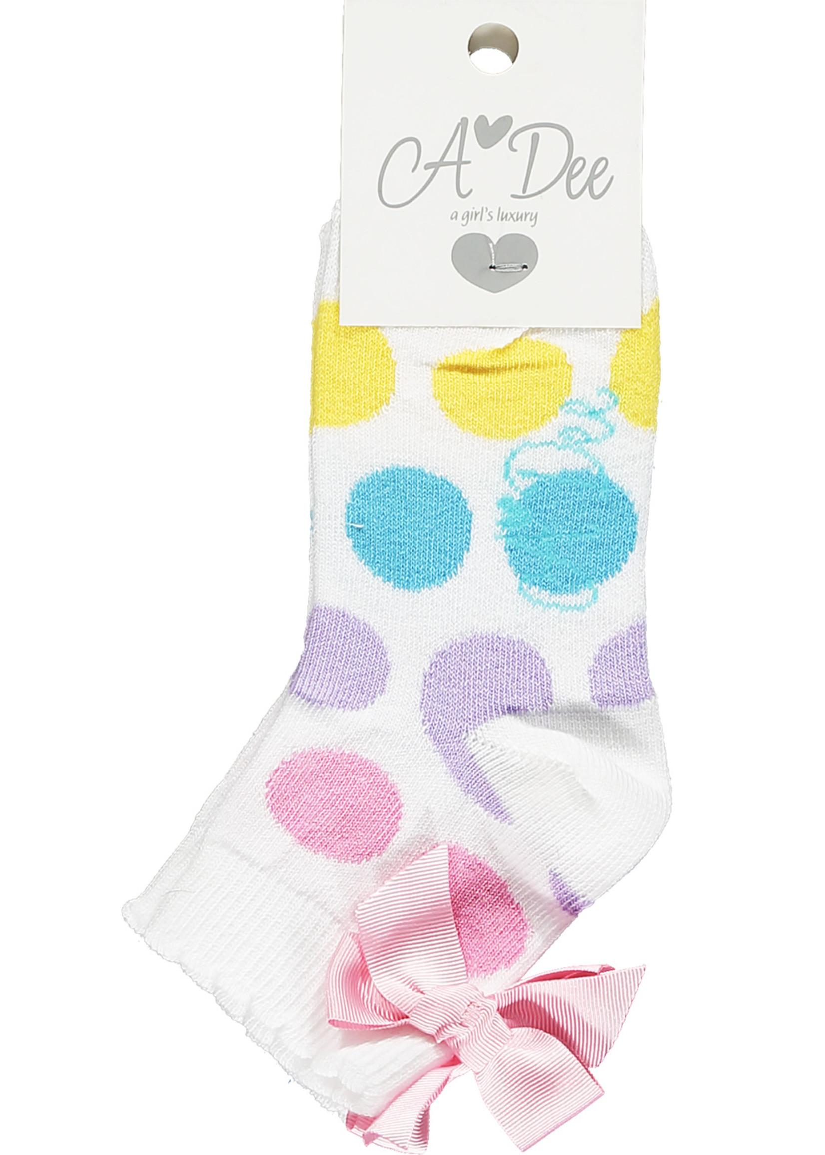 A Dee Nigella Rainbow ankle sock