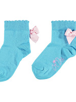 A Dee Nic Ankle sock with bow