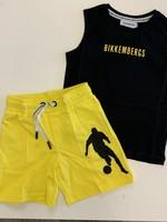 Bikkembergs Bikkembergs 2pc set black/yellow