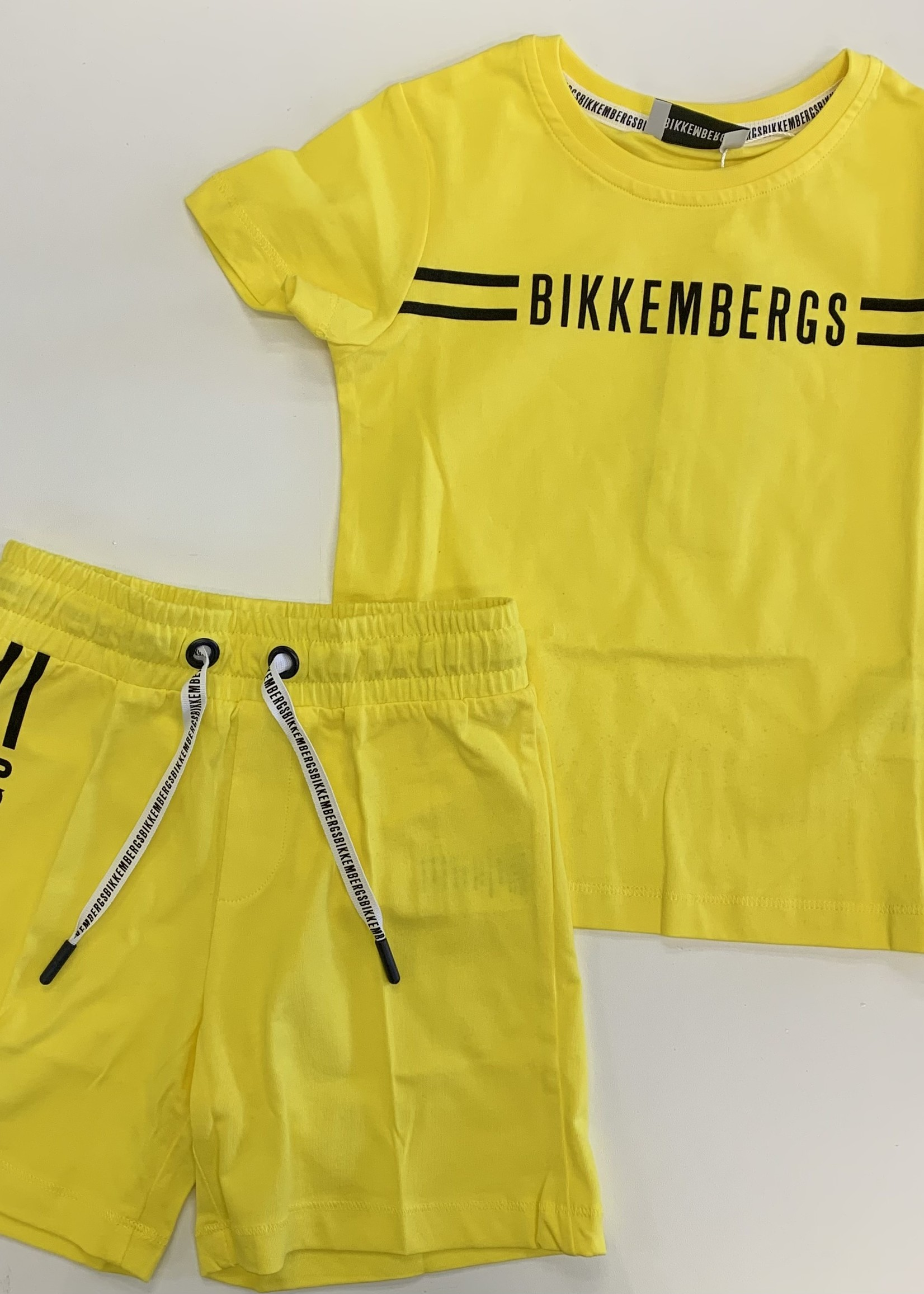 Bikkembergs Bikkembergs 2pc set yellow