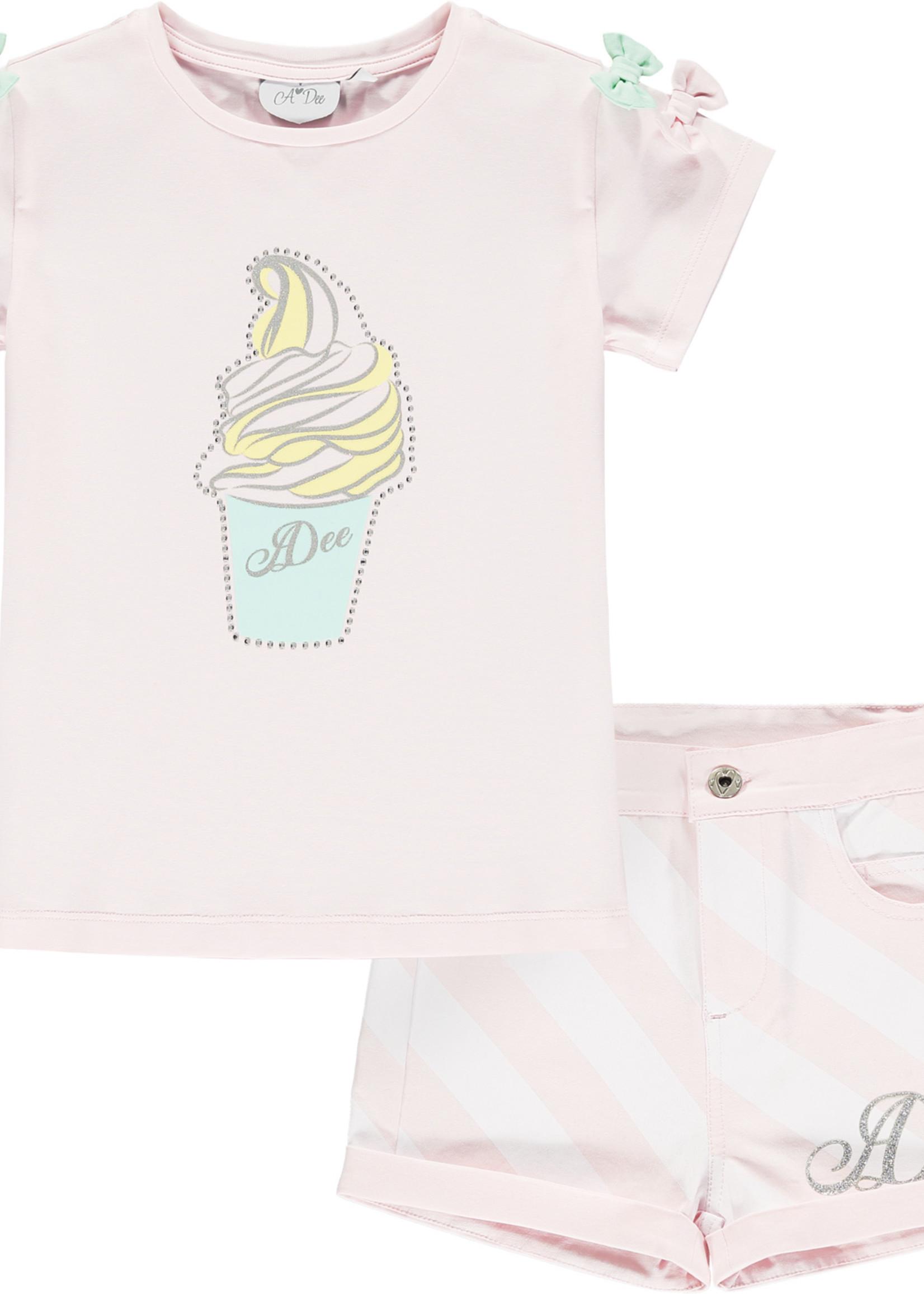 A Dee Olga ice cream jersey t shirt