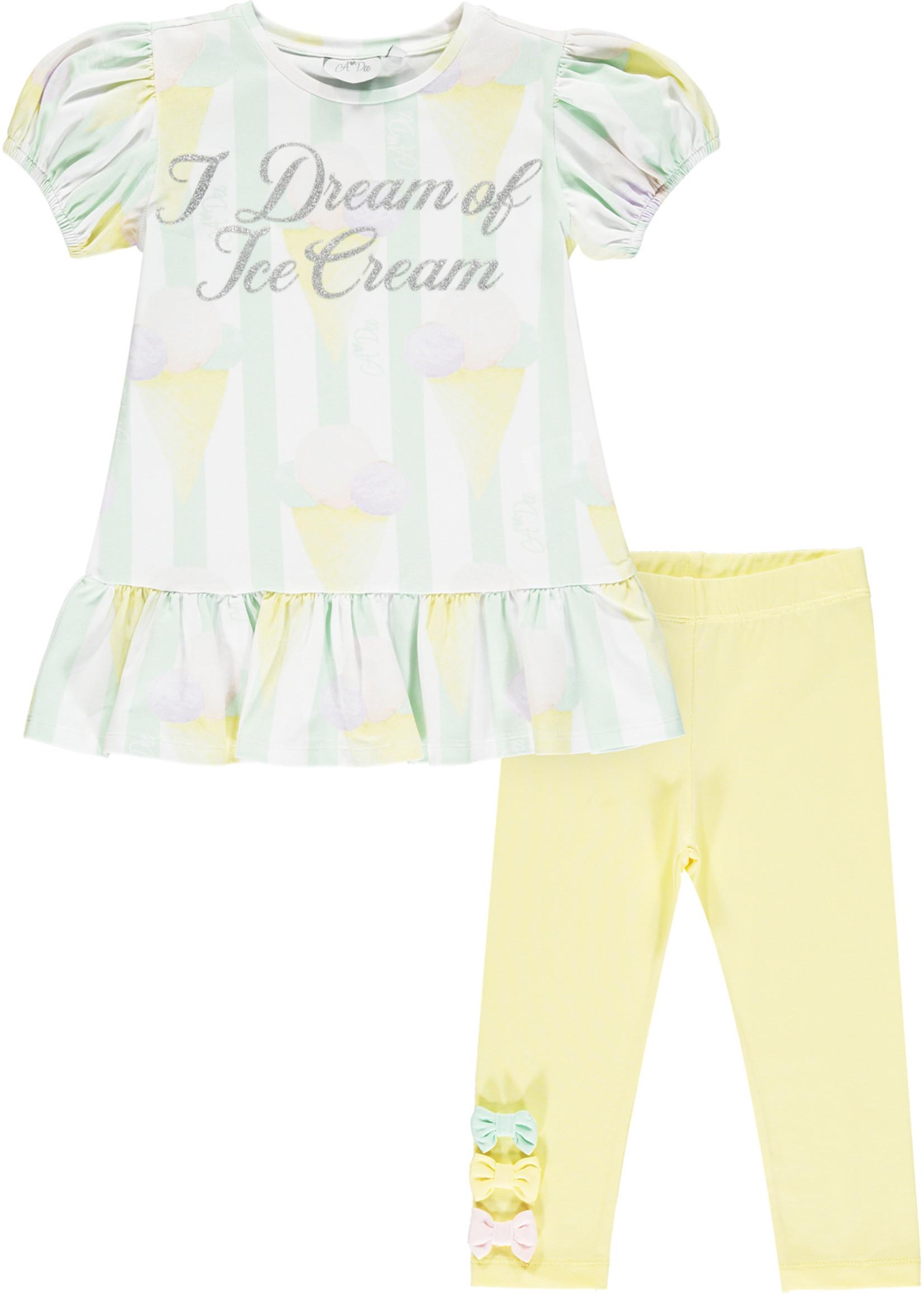 A Dee Onika 2 piece legging set glitter adee