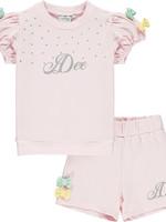 A Dee Omaria 2 piece set with short sleeve shirt