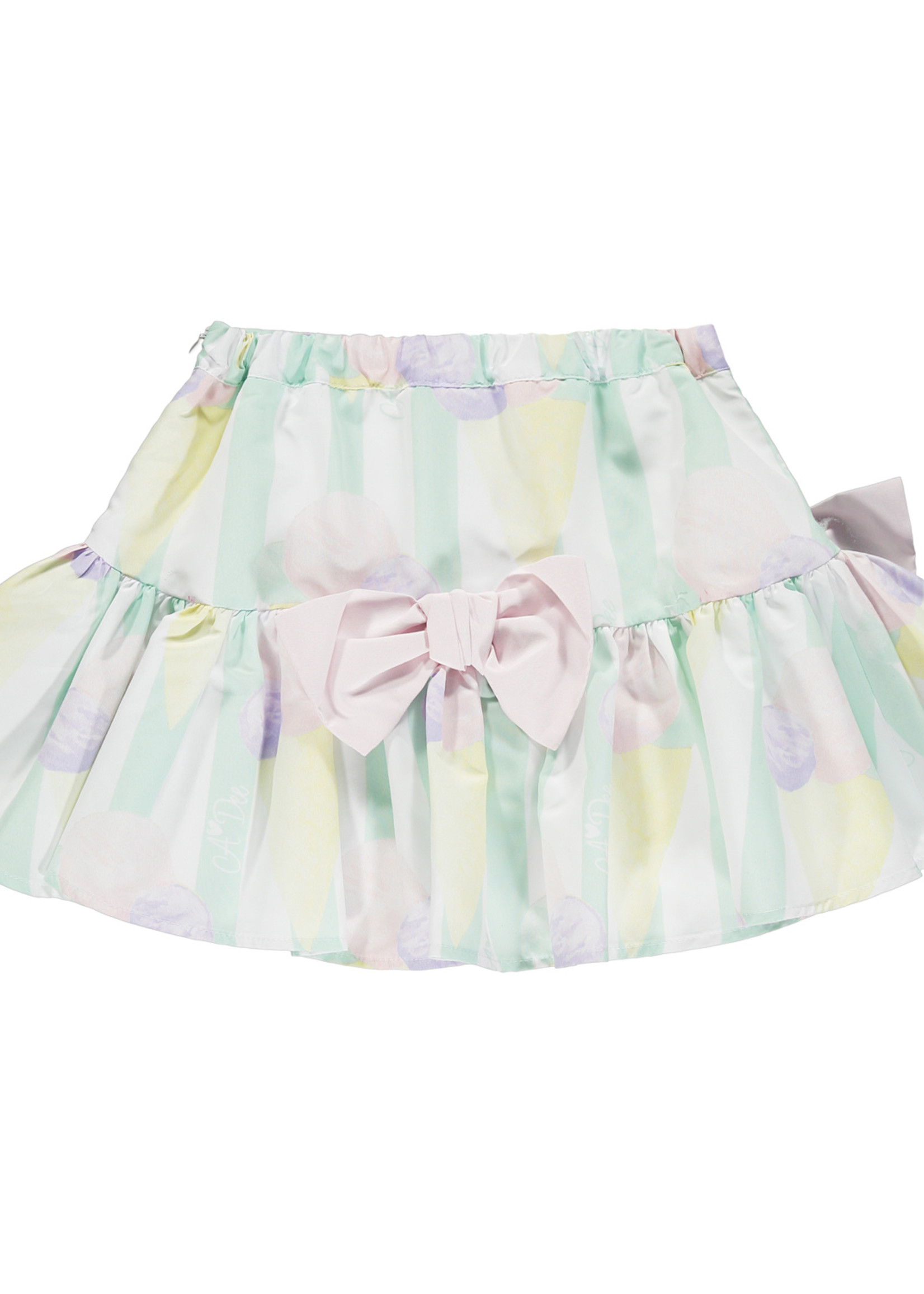 A Dee Ondrea ice cream print skirt