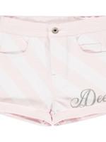 A Dee Orella stripe denim short