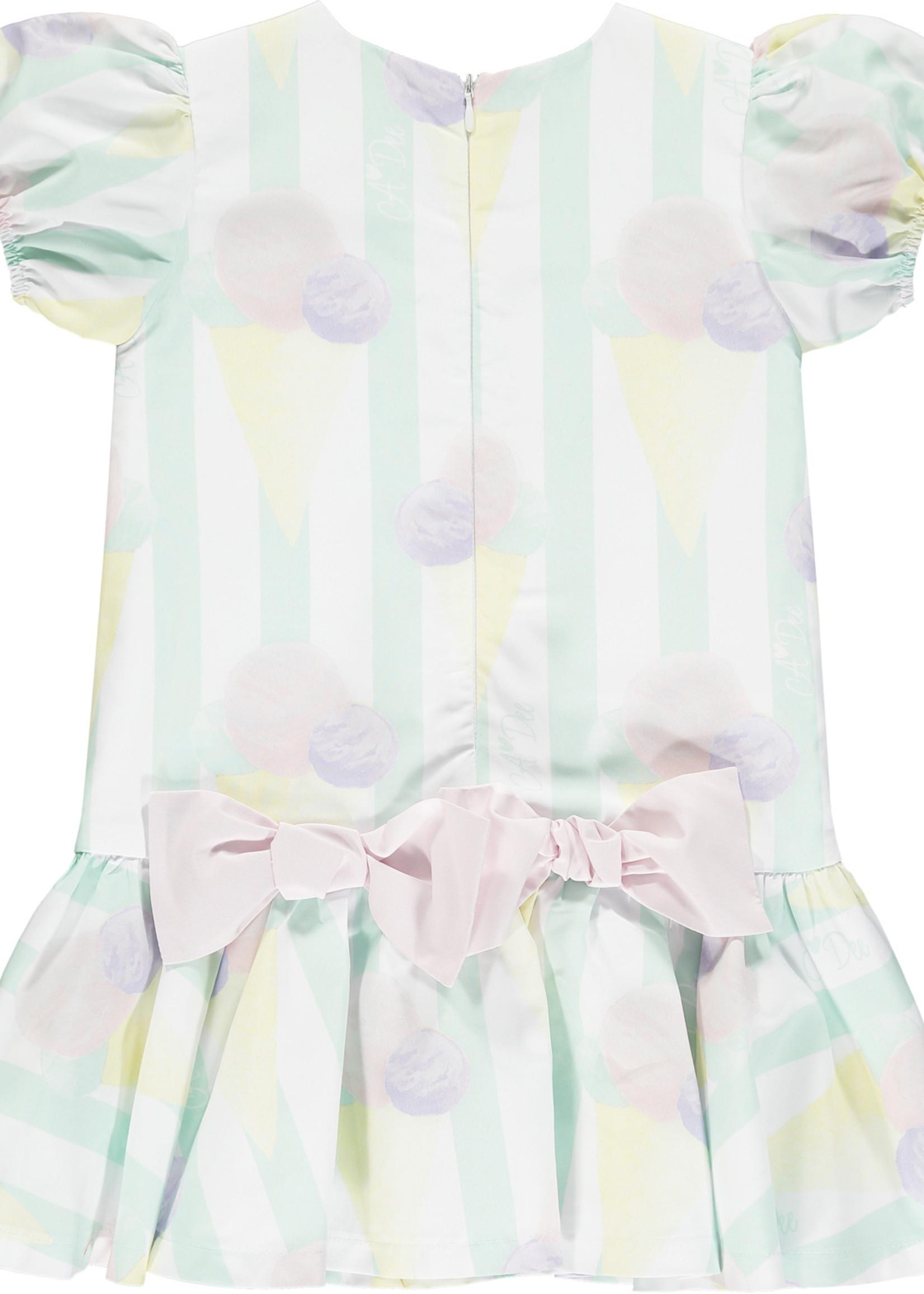 A Dee Odean ice cream print oversized dress