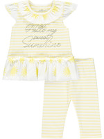 Little Adee Katriona stripe legging set