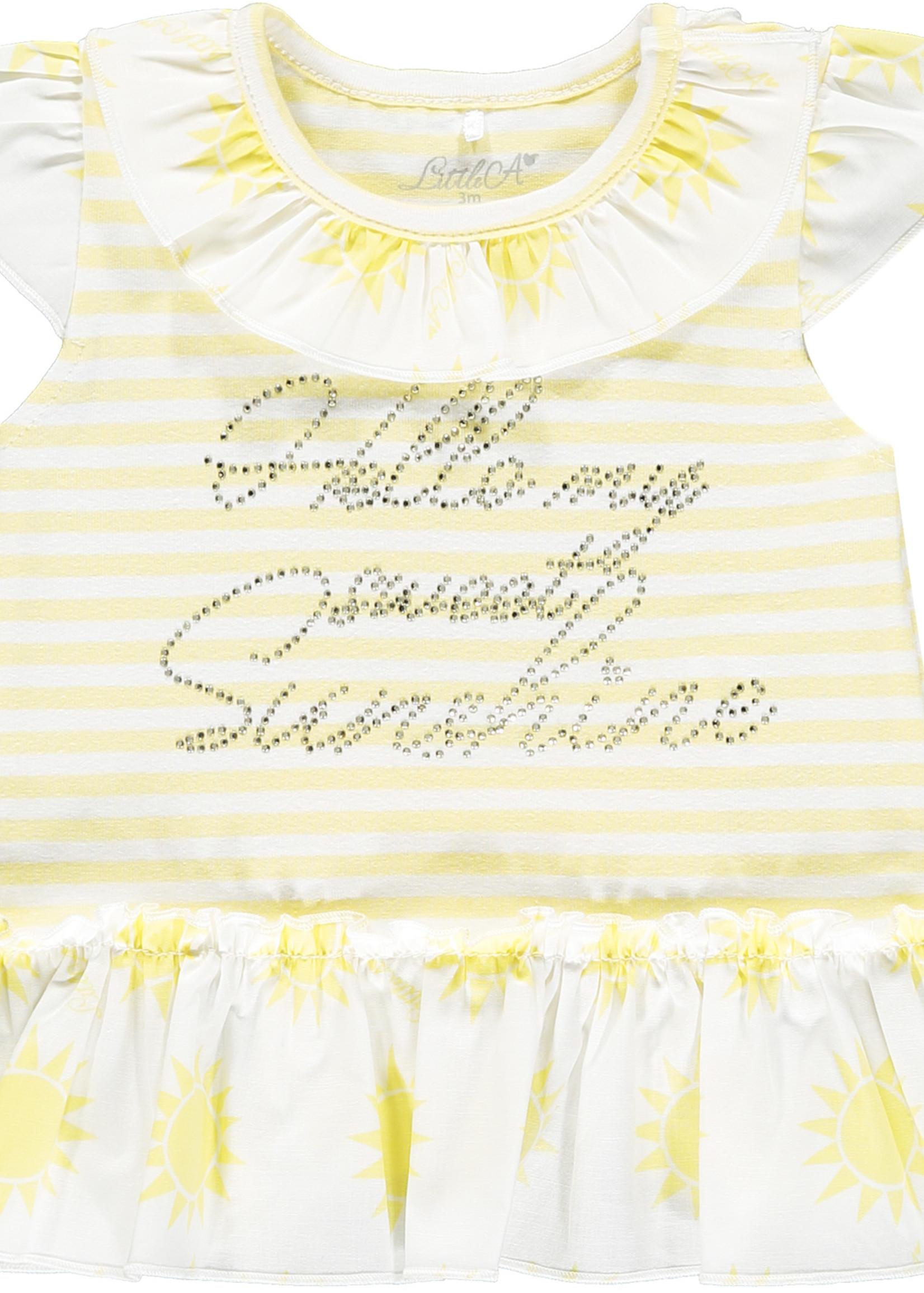 Little Adee Katriona stripe legging set