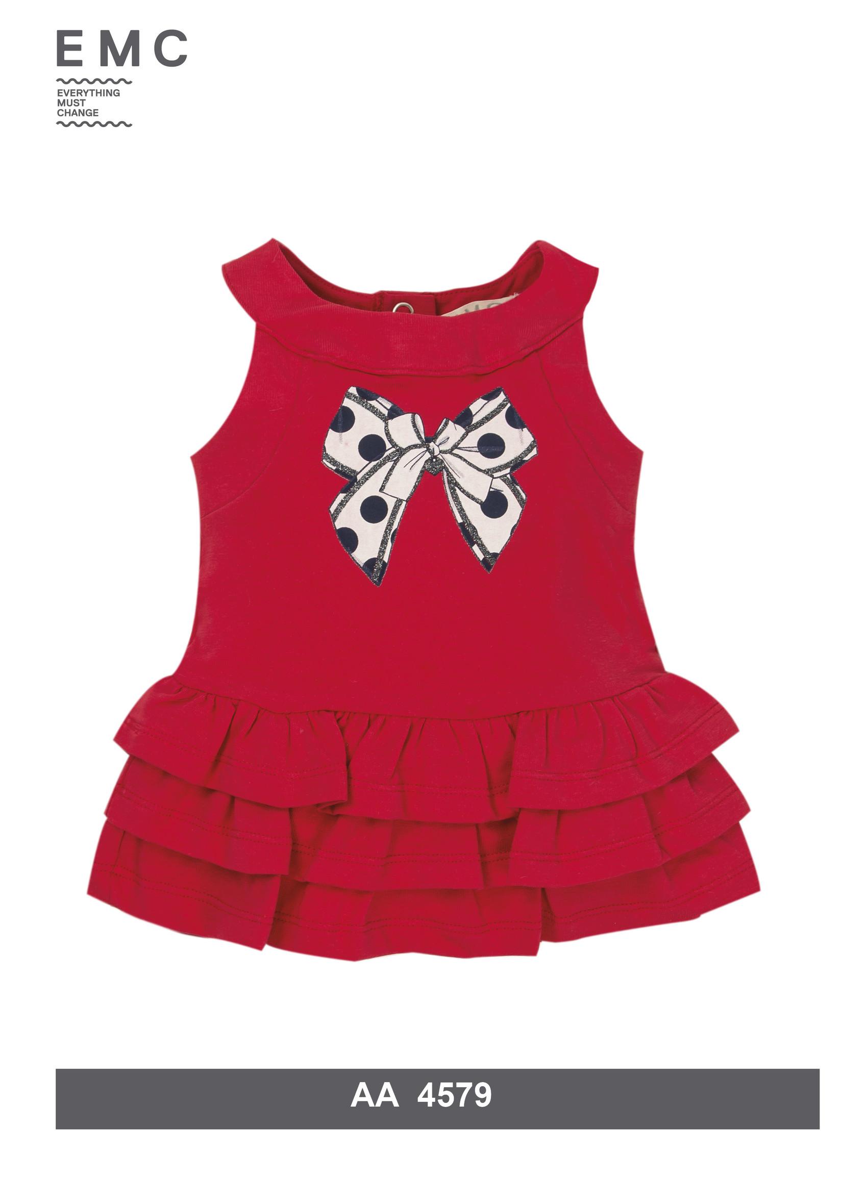 EMC EMC Red bow dress