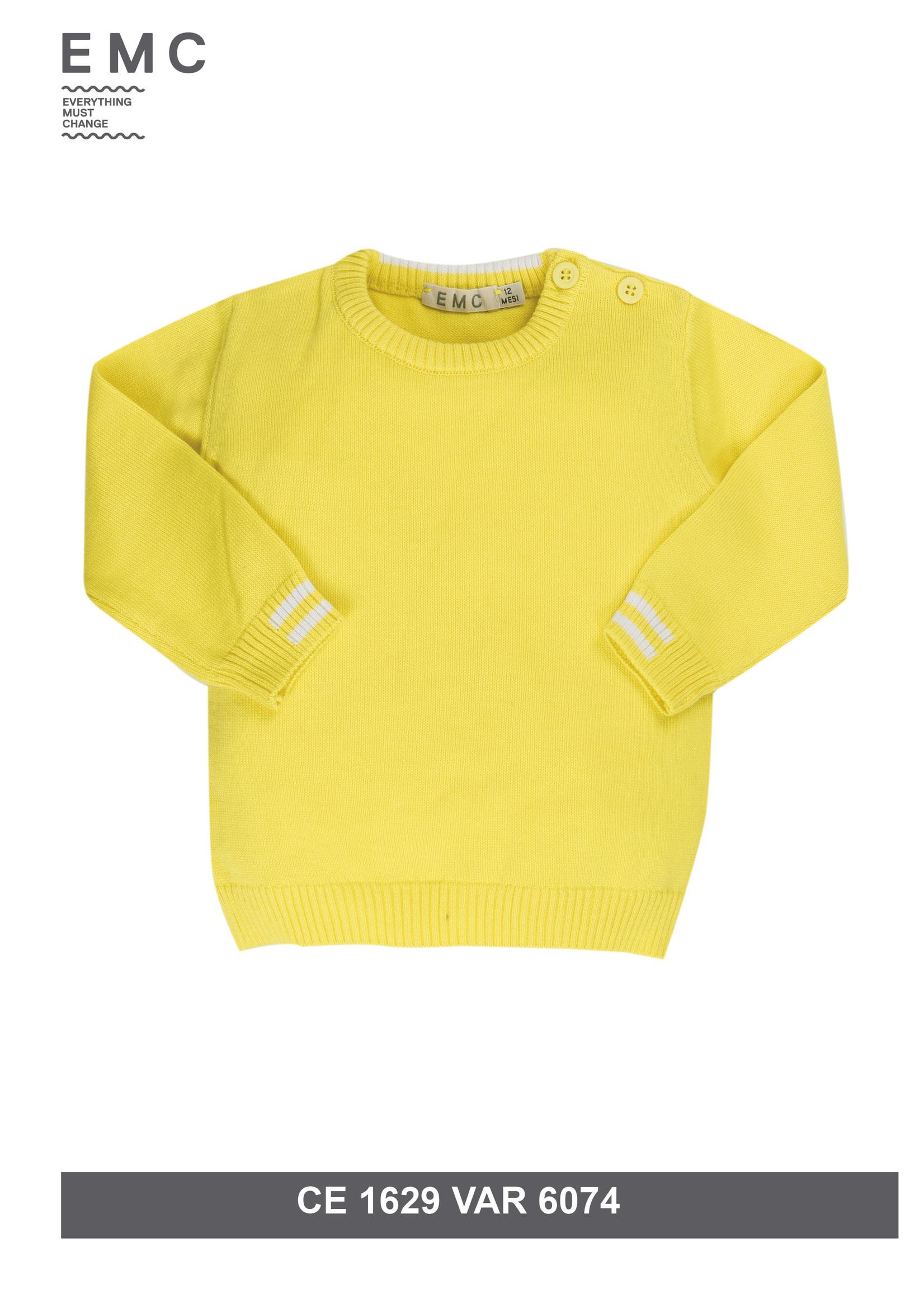 EMC EMC gele sweater