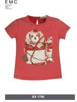 EMC EMC dog shirt red