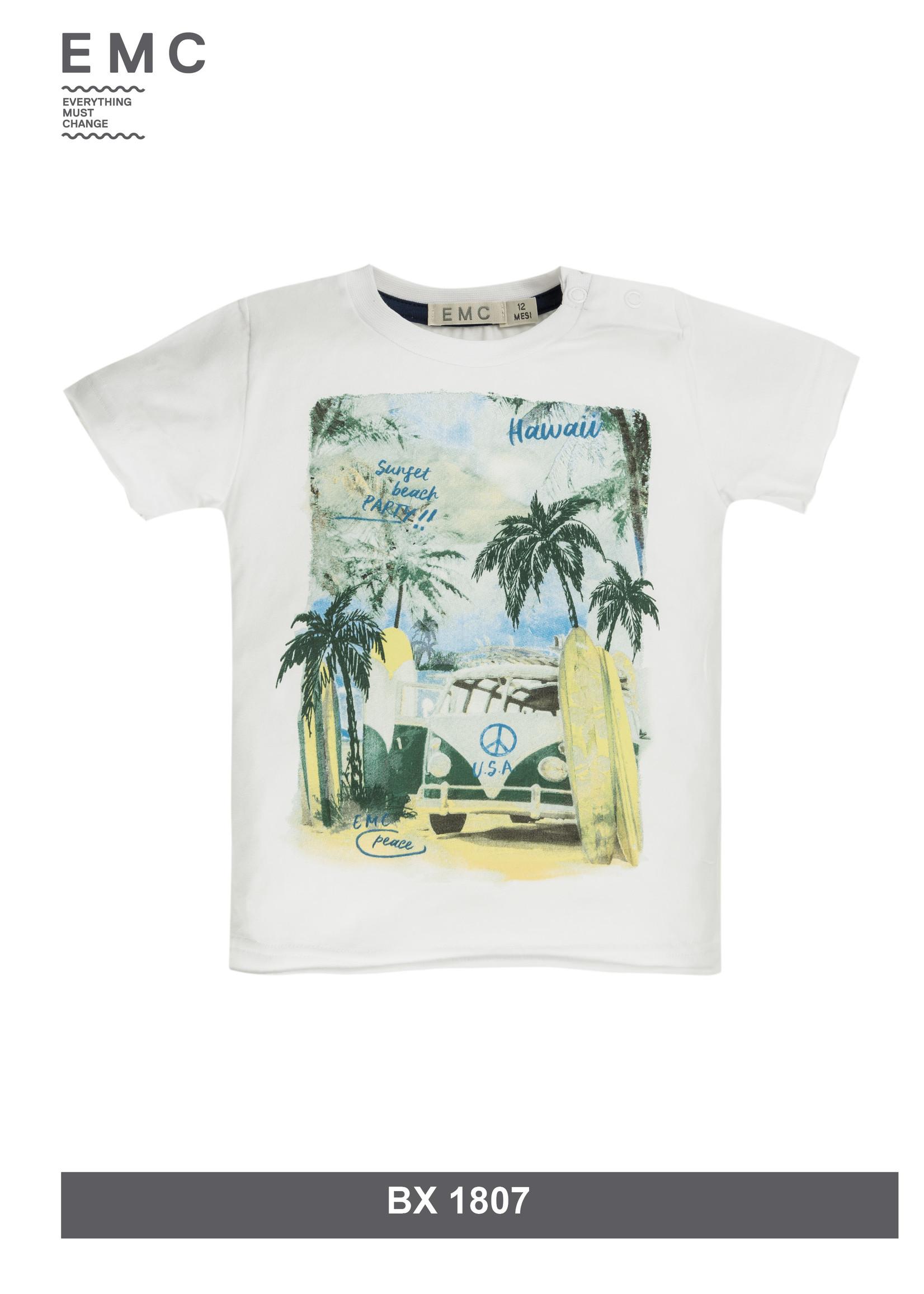 EMC EMC sunset beach shirt