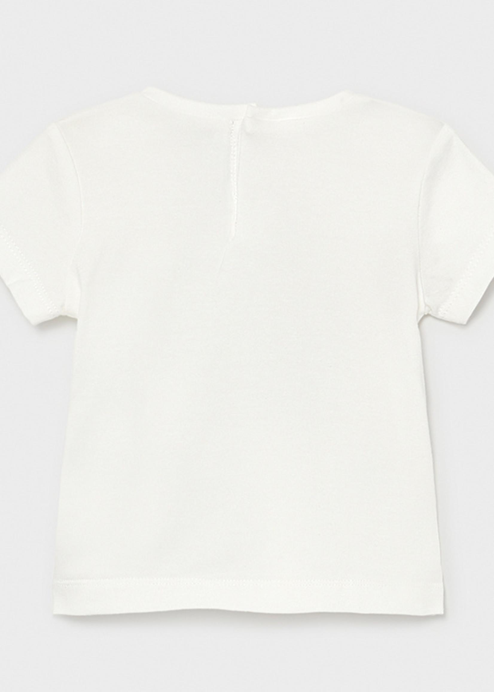 Mayoral Mayoral Basic s/s t-shirt flower