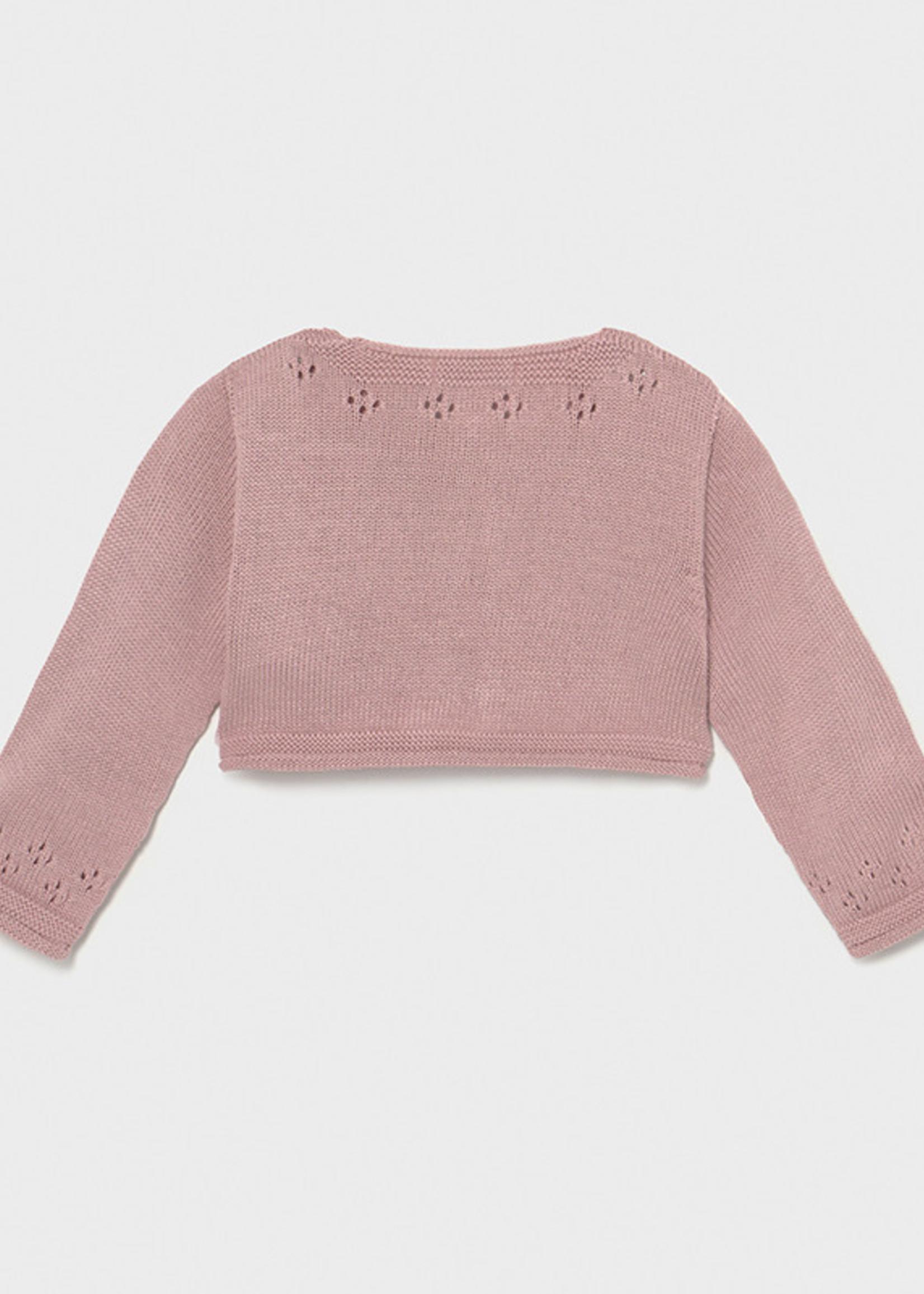 Mayoral Mayoral Knitting cardigan pink