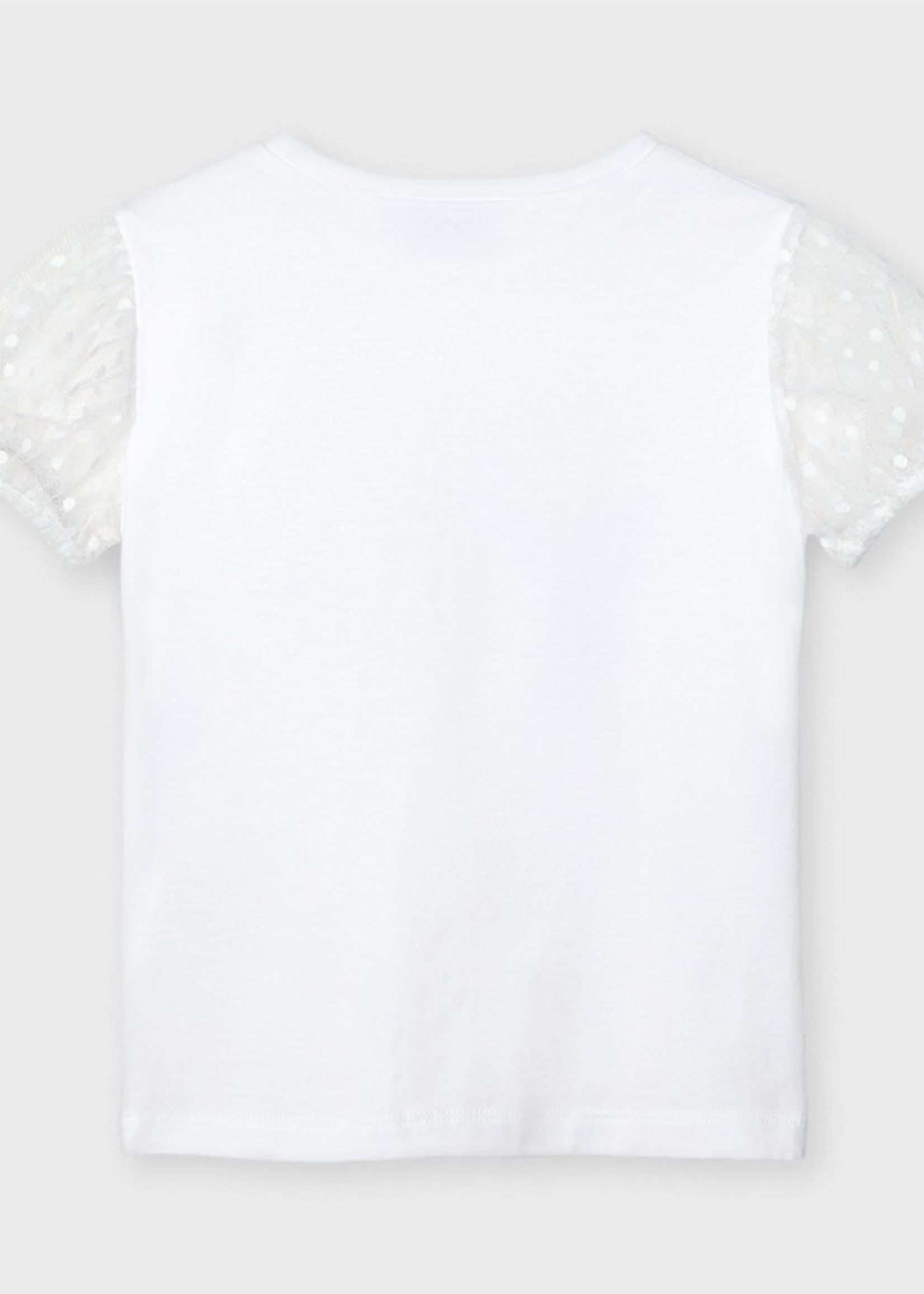 Mayoral Mayoral s/s plumeti sleeve t-shirt
