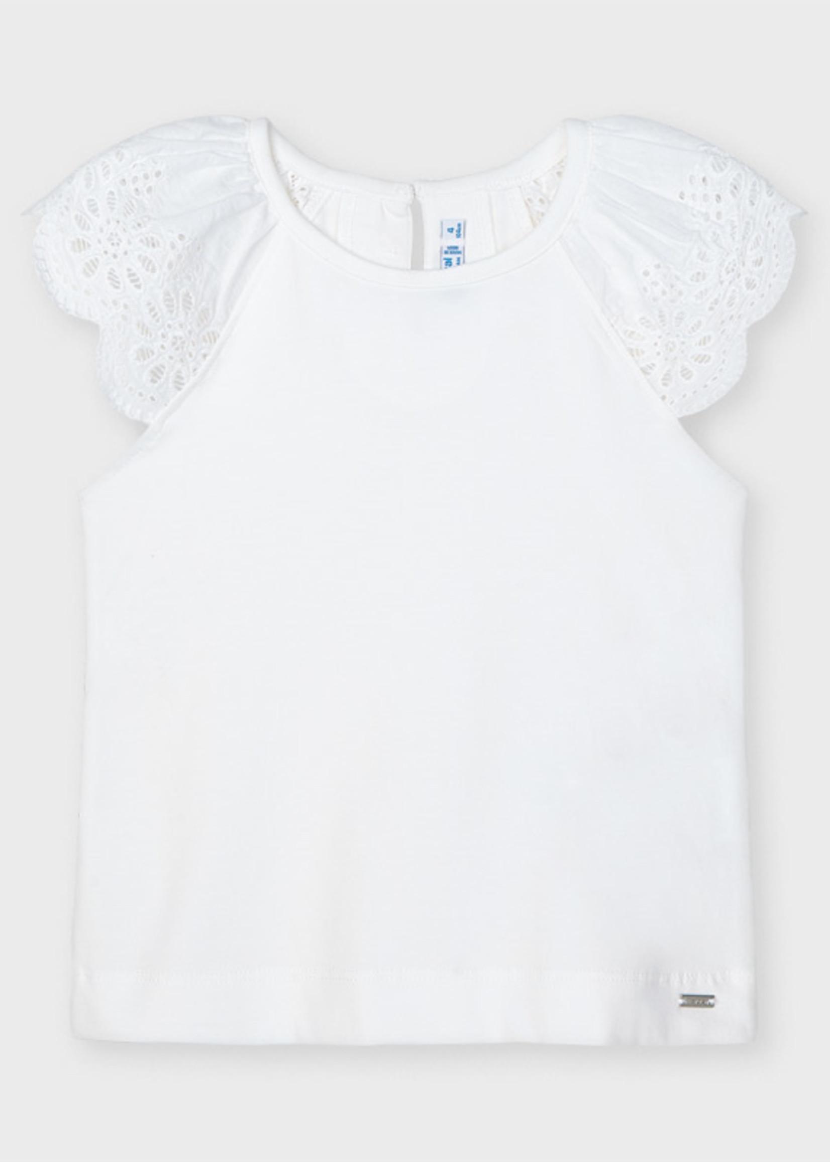 Mayoral Mayoral sleeveless t-shirt white