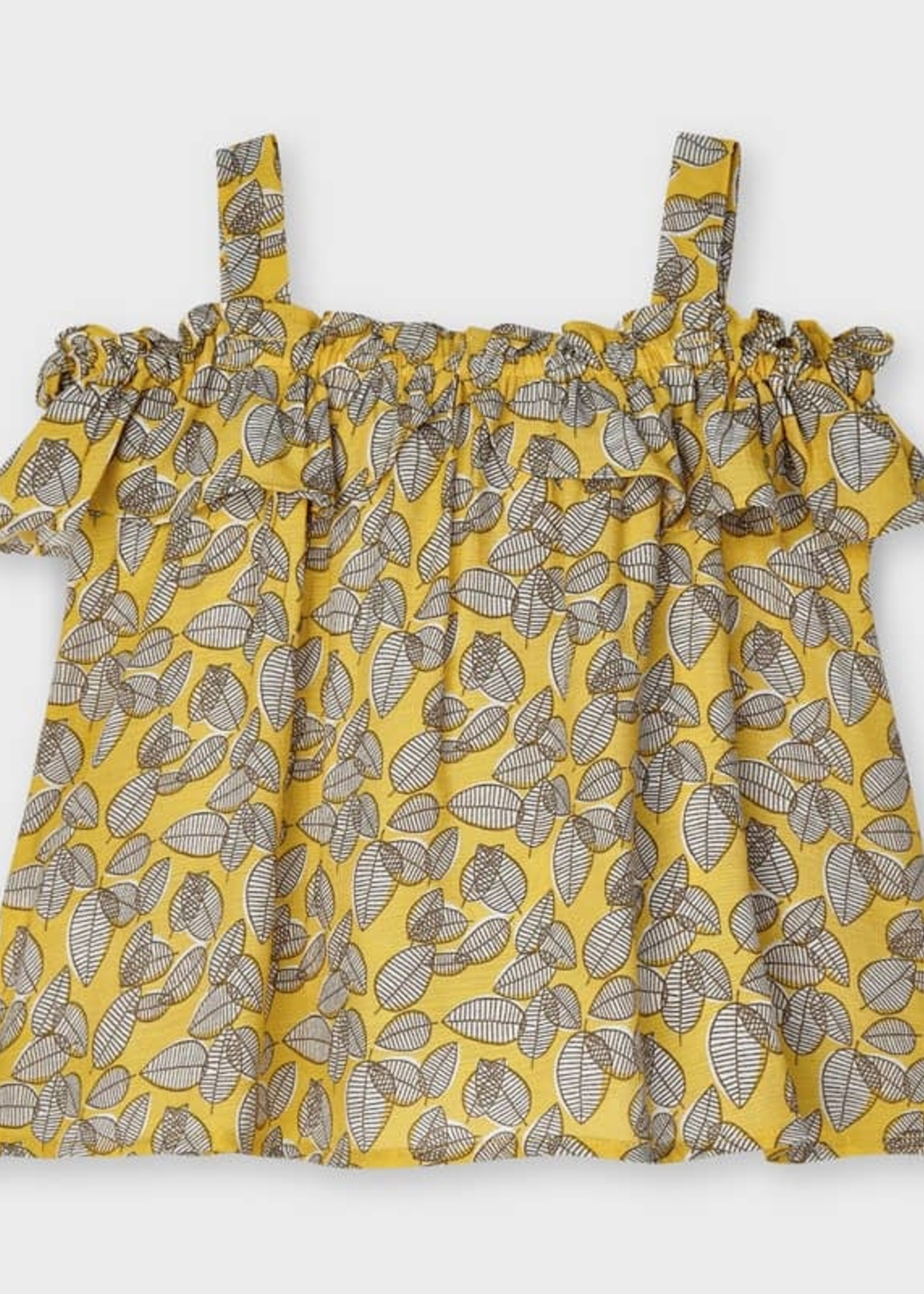 Mayoral Mayoral strappy print Blouse