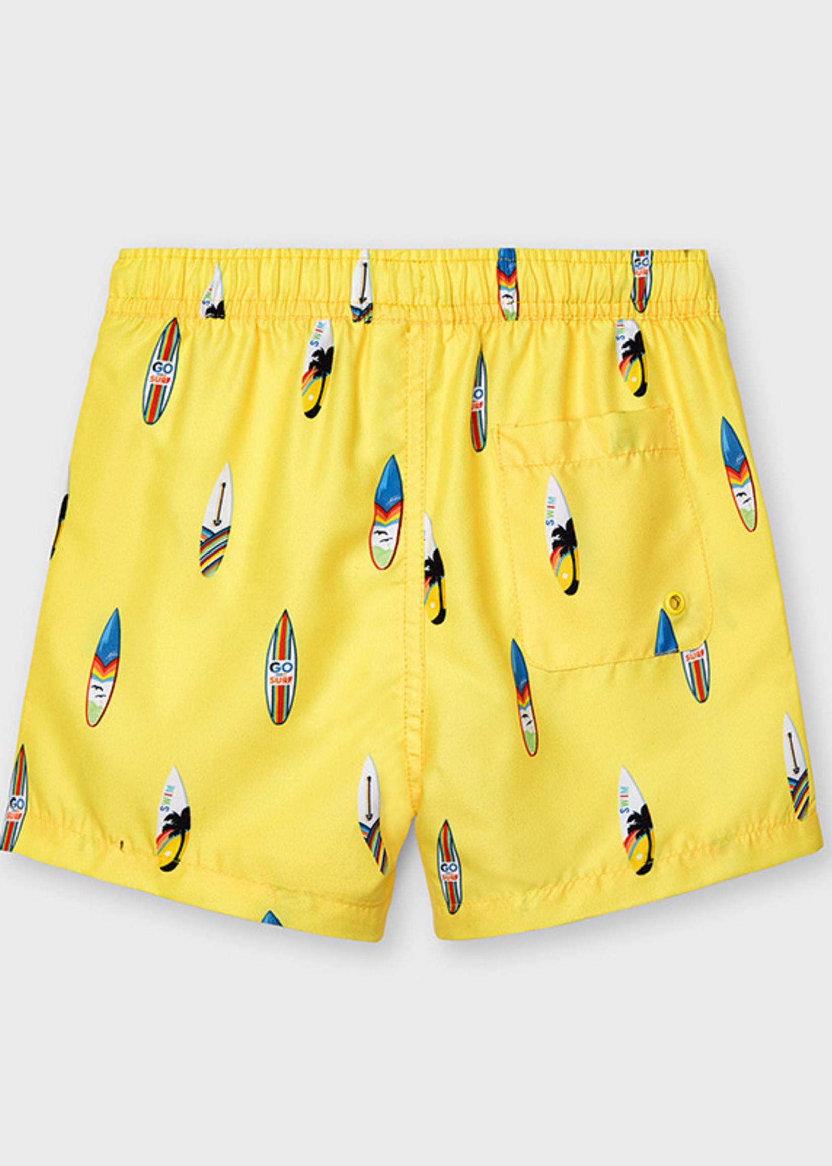 Mayoral Mayoral bathing suit shorts banana