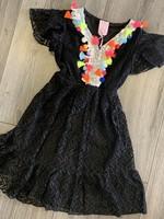 Zero Zero ibiza dress zwart
