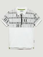 Bikkembergs Bikkembergs Polo Shirt White letters