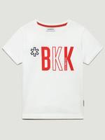 Bikkembergs Bikkembergs T-Shirt White bkk red