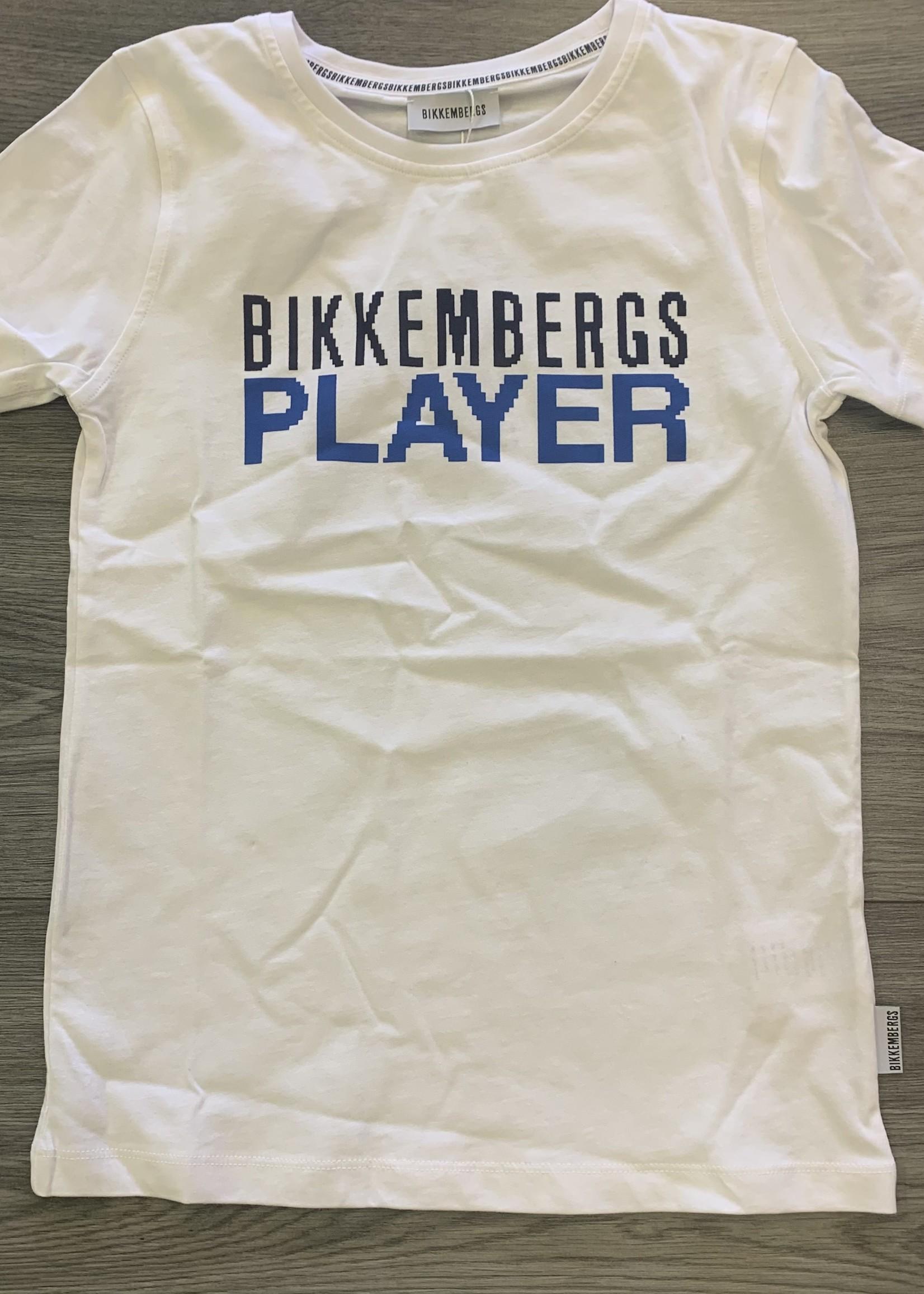 Bikkembergs Bikkembergs T-Shirt White player