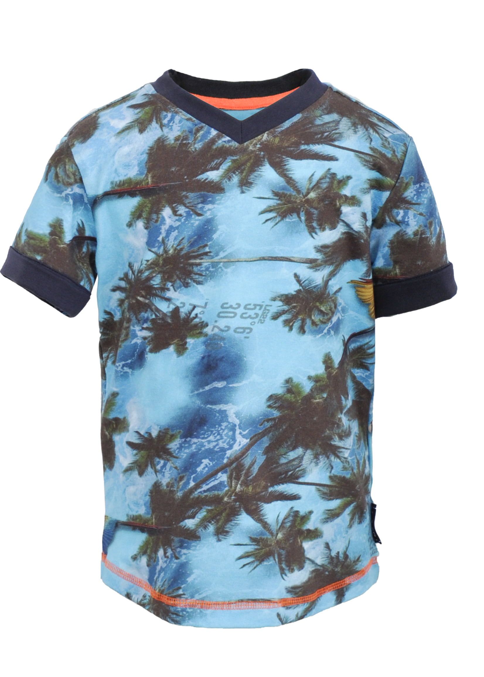 Leggends22 T-shirt Rens Scuba Blue