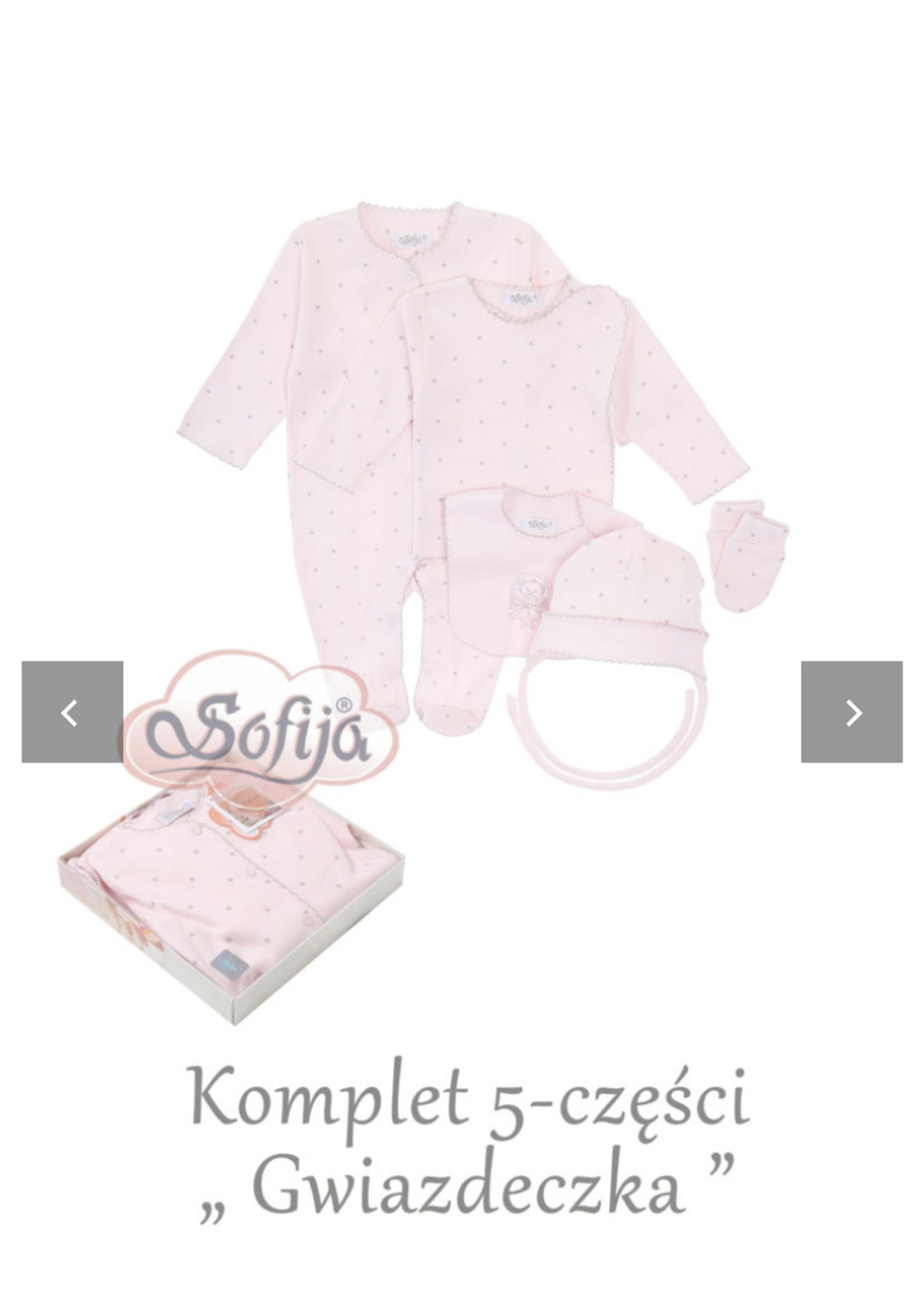 Sofija Sofija 5 pack pink
