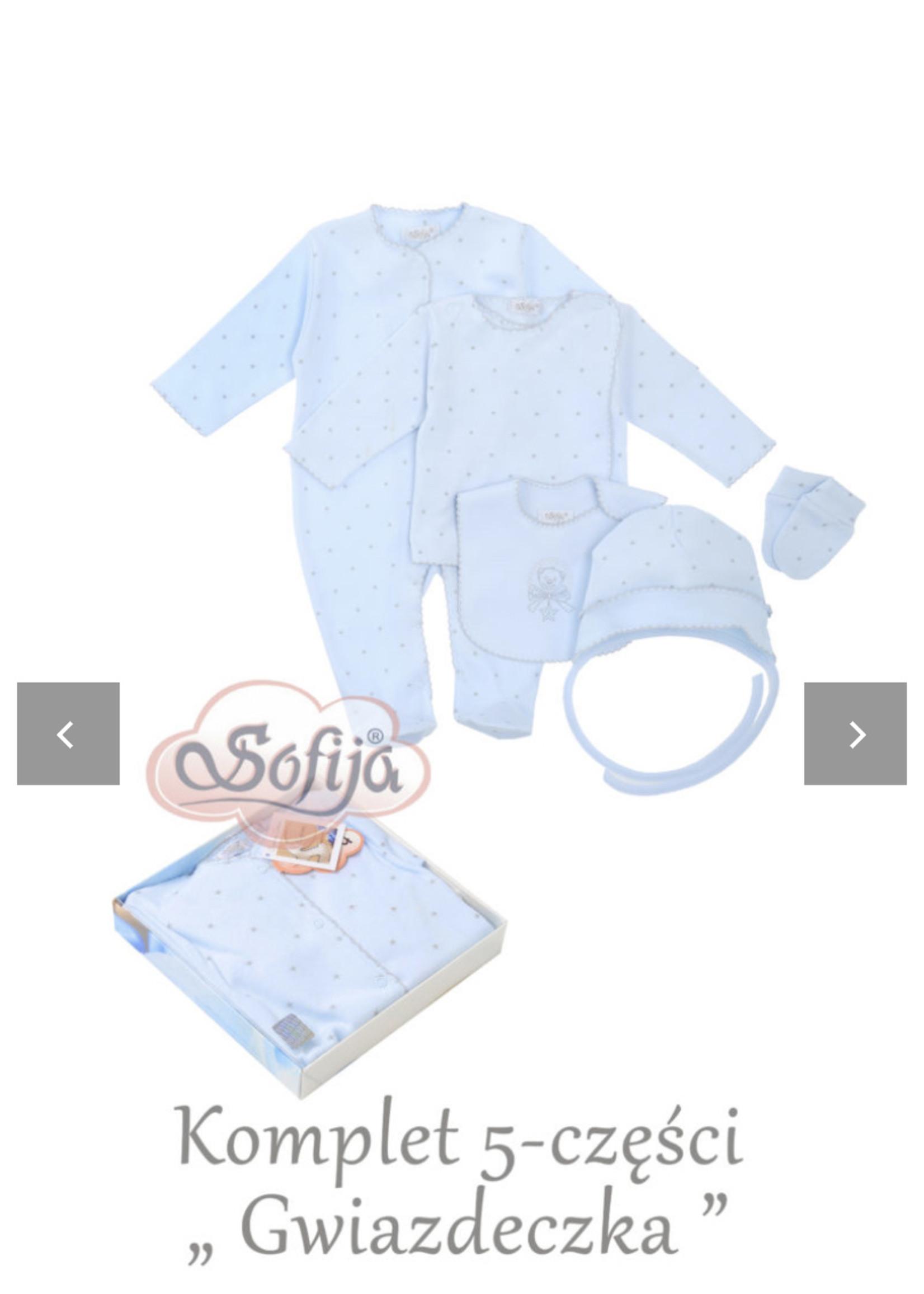Sofija Sofija 5 pack blauw