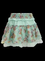 LoFff LoFff skirt multiflower mint flower