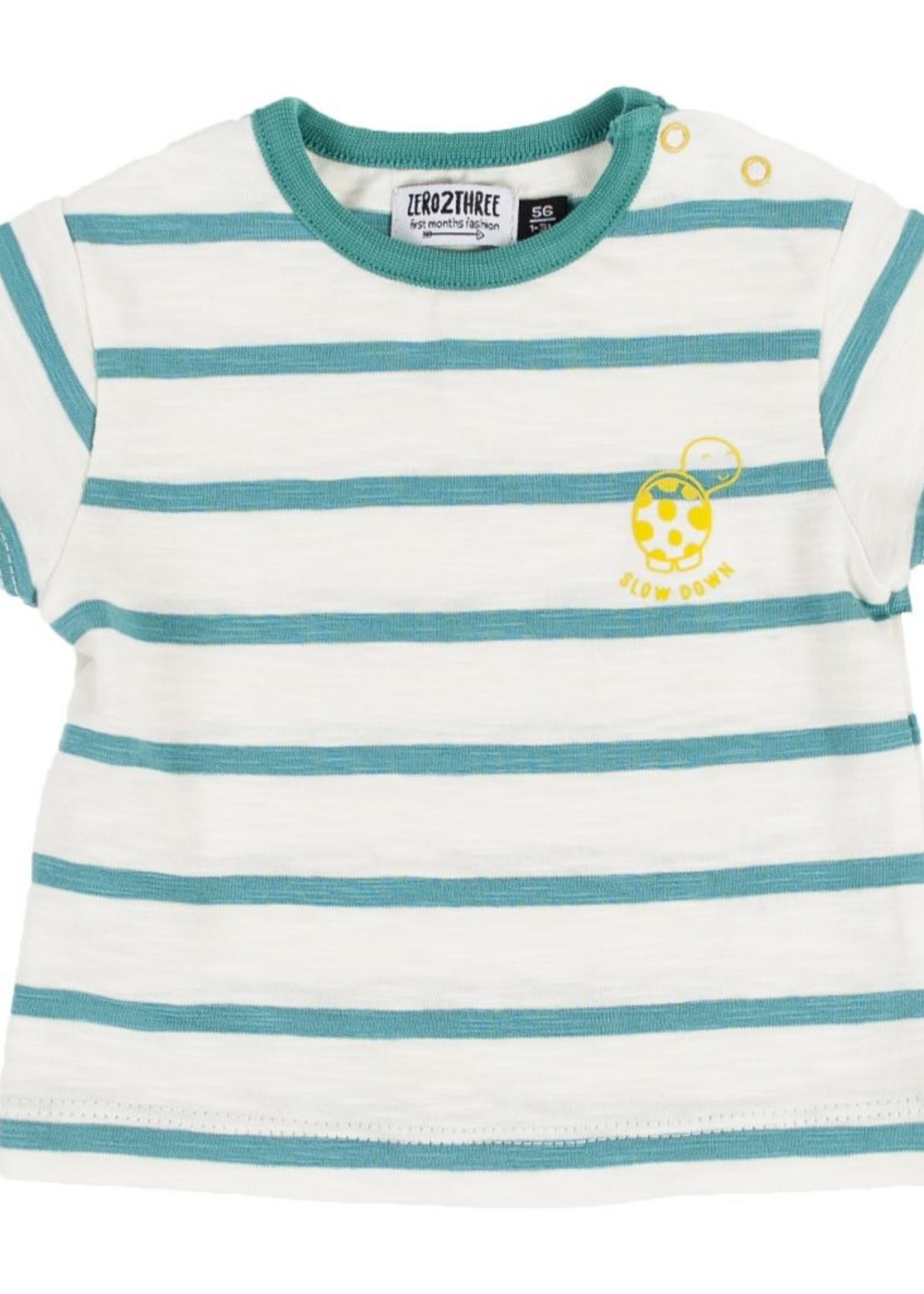 Zero2three Zero2three striped tshirt 8E005