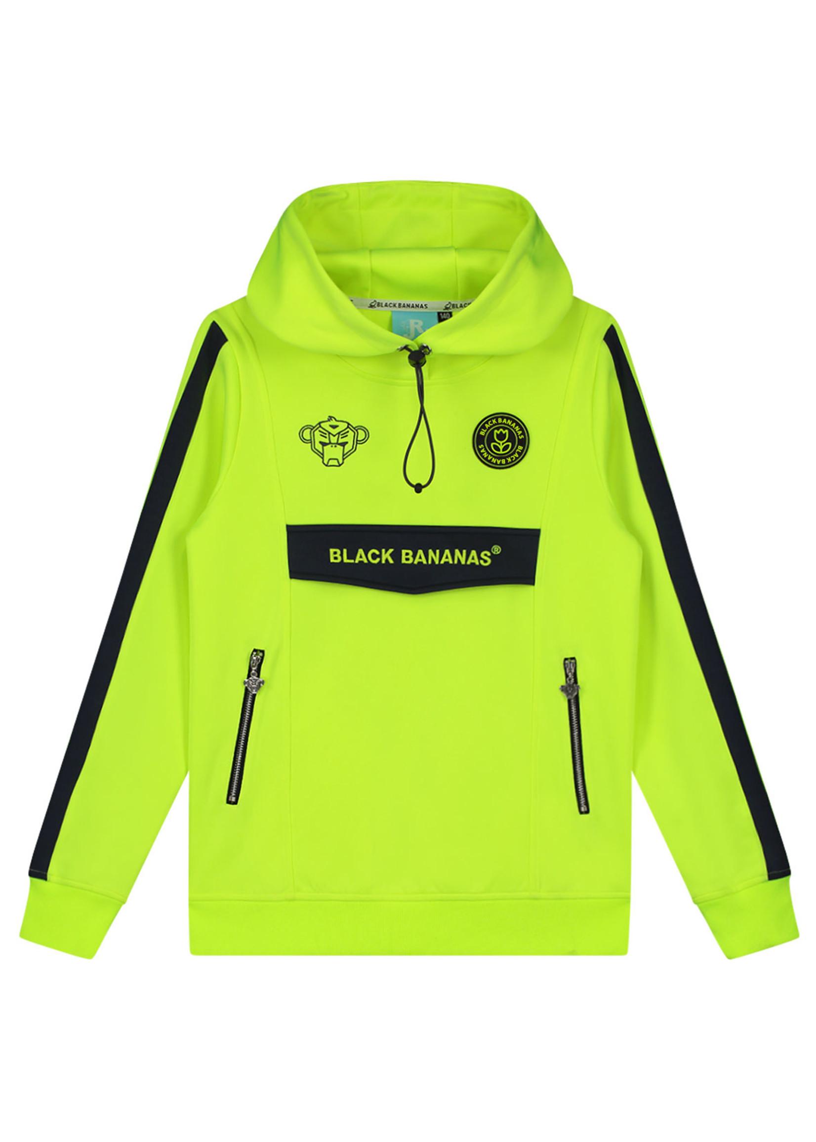 Black Bananas BlackBananas Jr. Anorak Match Tracktop neon yellow