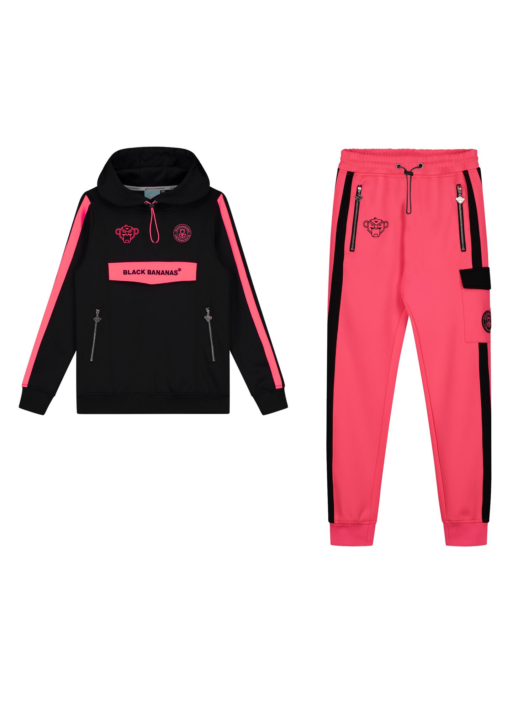 Black Bananas BlackBananas Jr. Anorak Match Trackpants pink