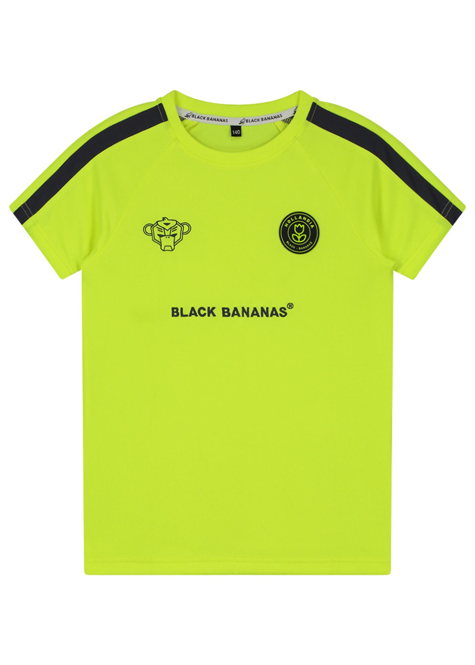 Black Bananas BlackBananas F.C. Match Tee neon yellow