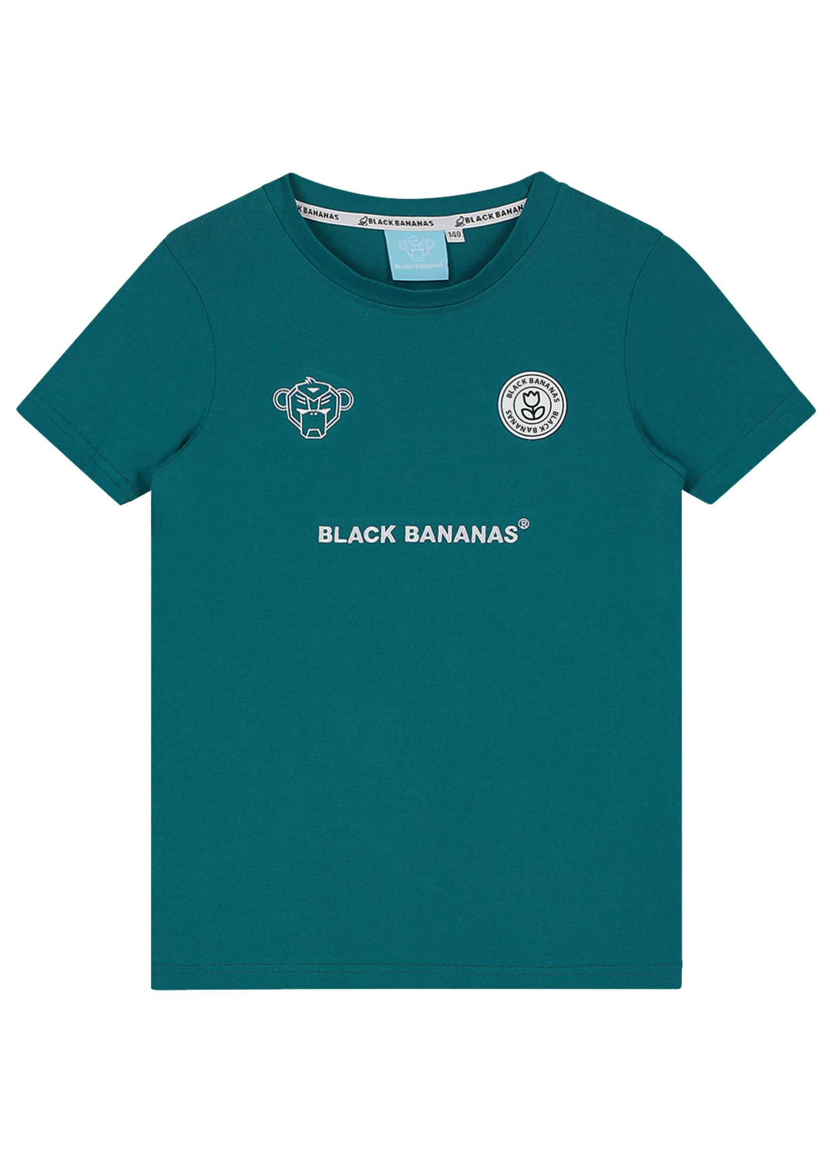 Black Bananas BlackBananas F.C. basic Tee aqua