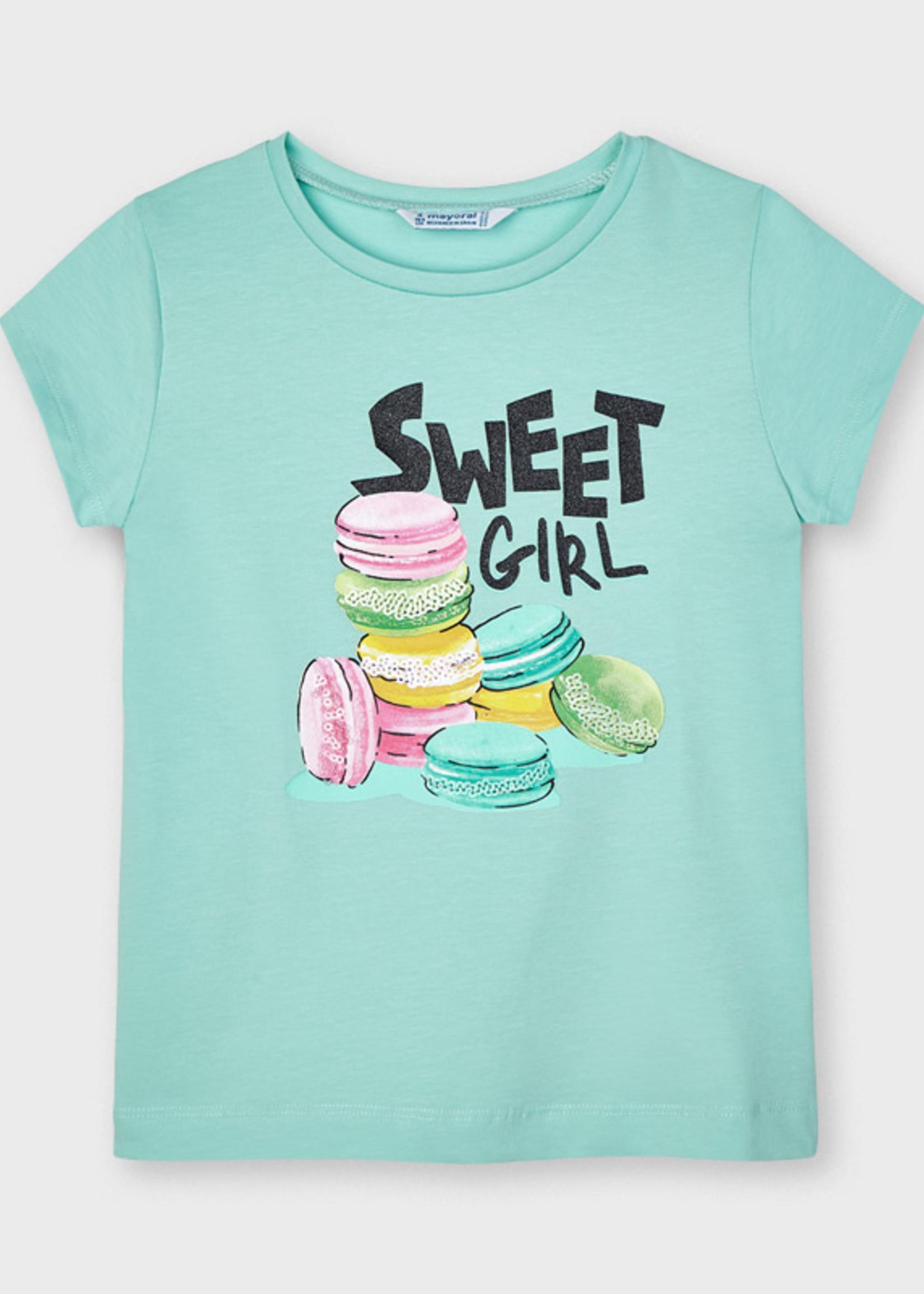 Mayoral Mayoral sweet girl shirt