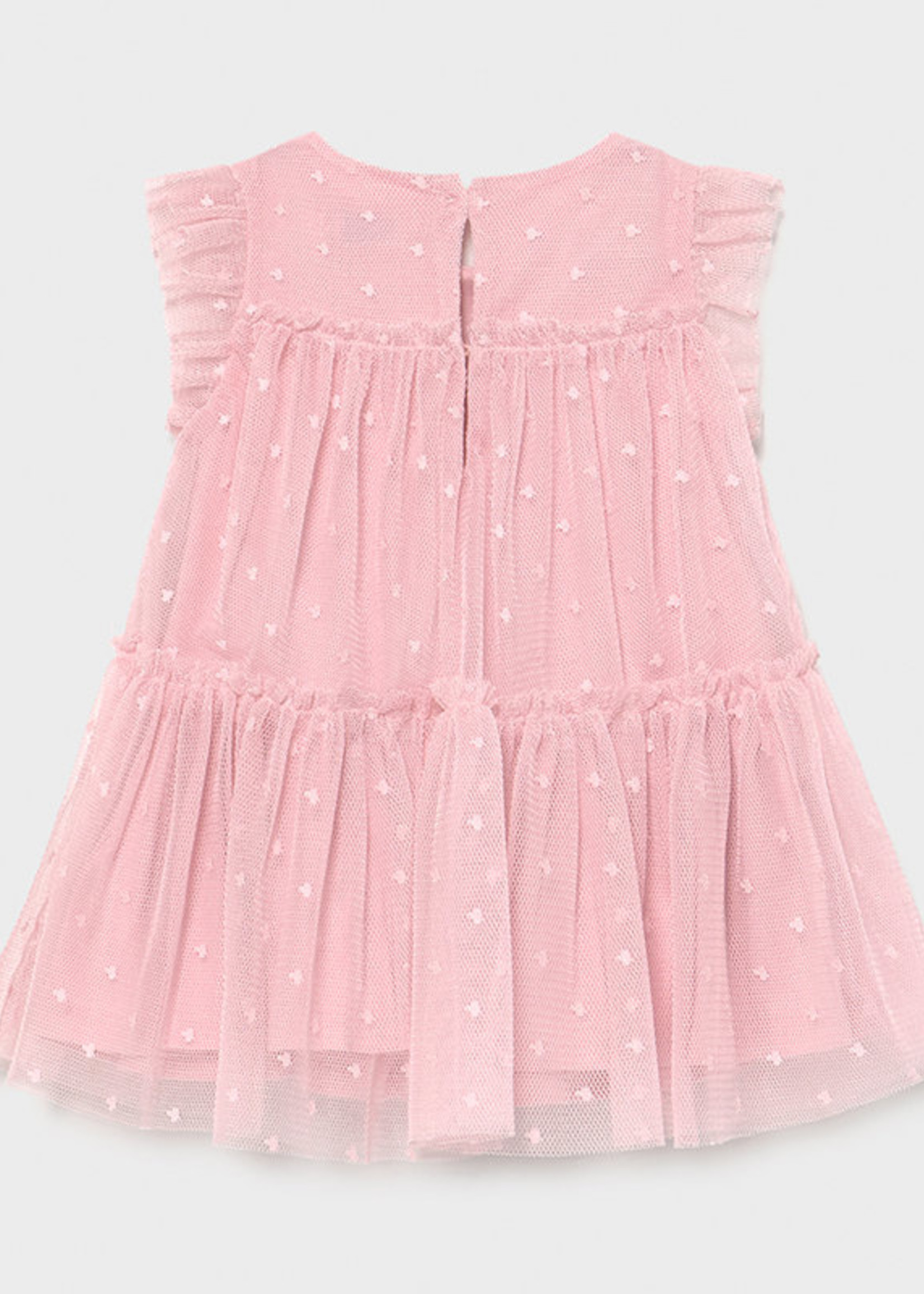 Mayoral Mayoral tulle dress for baby girl pink